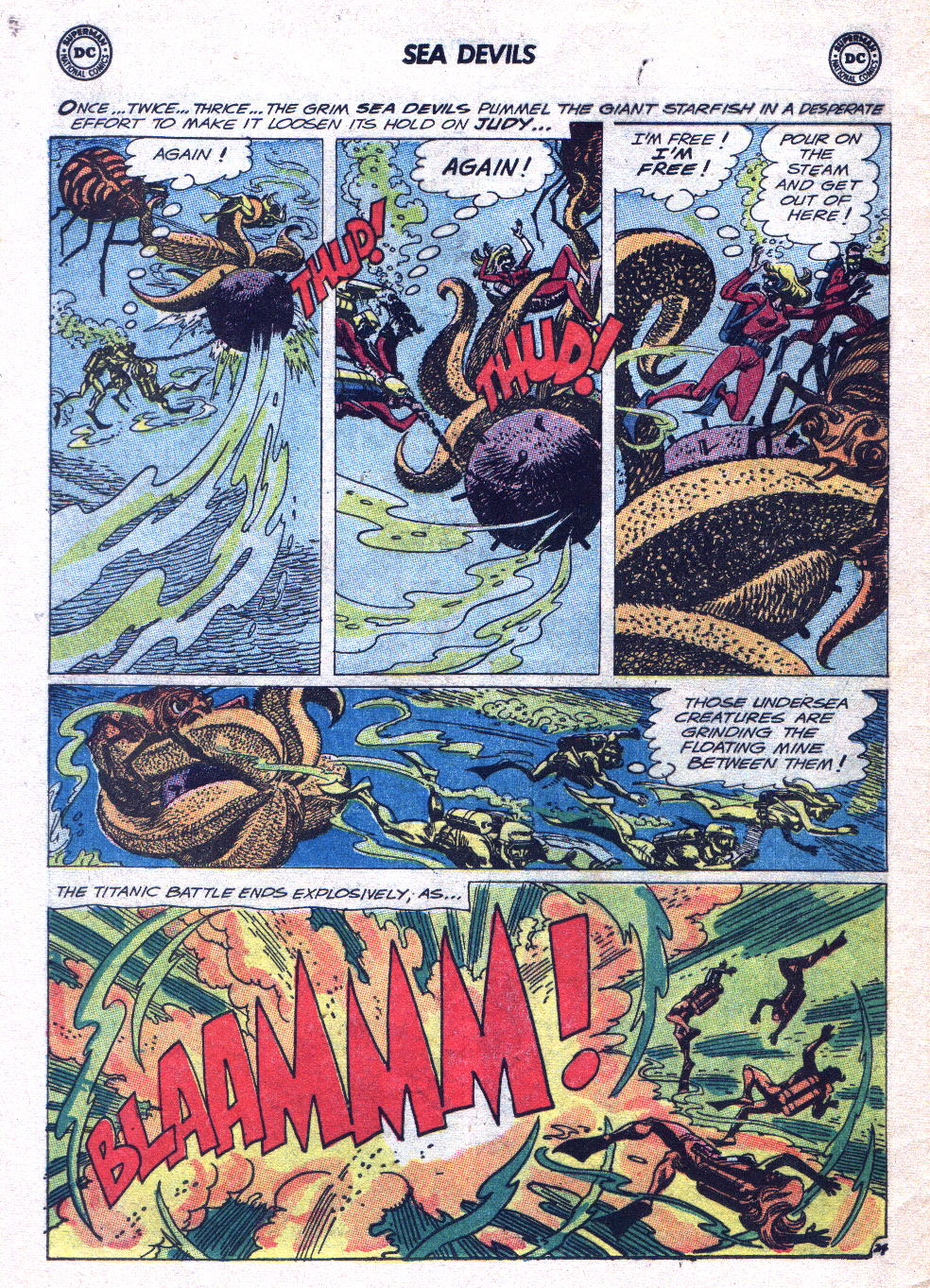 Read online Sea Devils comic -  Issue #15 - 31