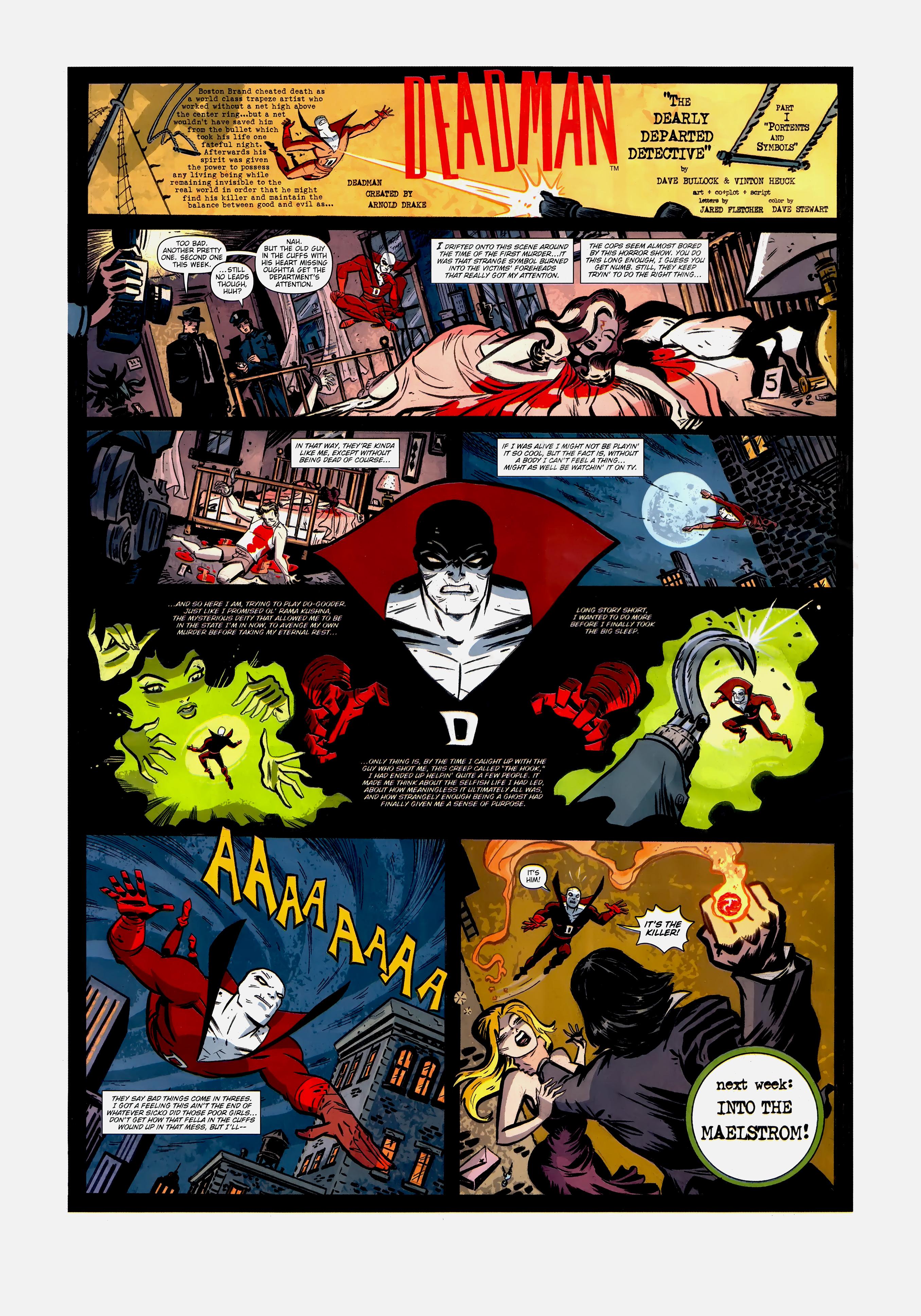 Read online Wednesday Comics comic -  Issue #1 - 6