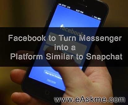 Facebook Messenger Similar Snapchat : eAskme