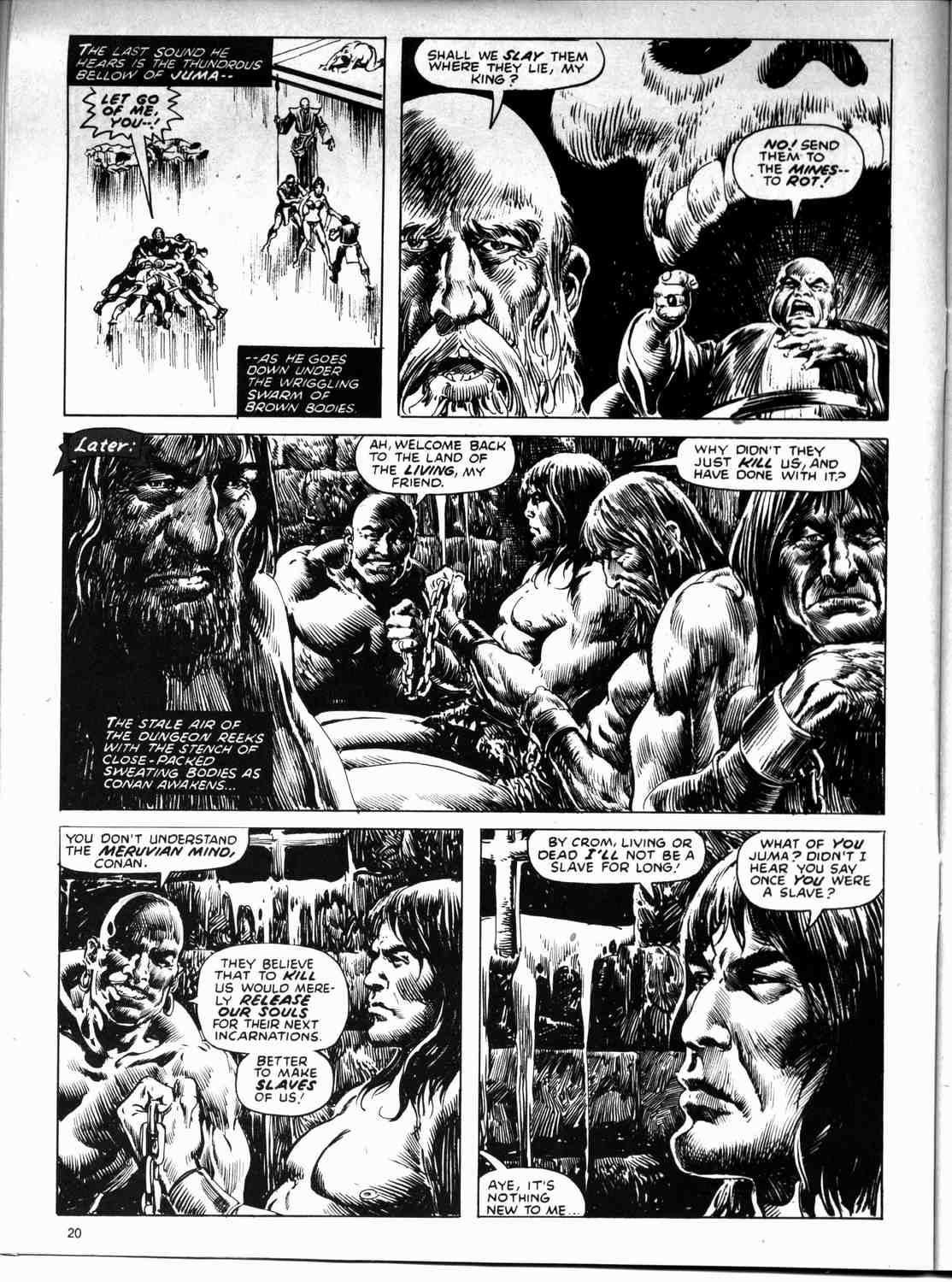 The Savage Sword Of Conan Issue #59 #60 - English 20