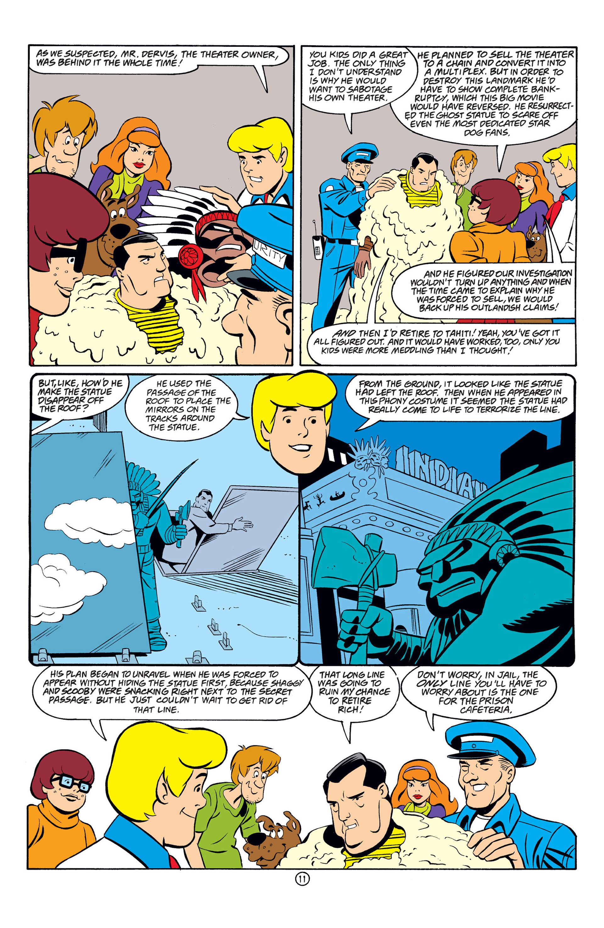 Read online Scooby-Doo (1997) comic -  Issue #33 - 12