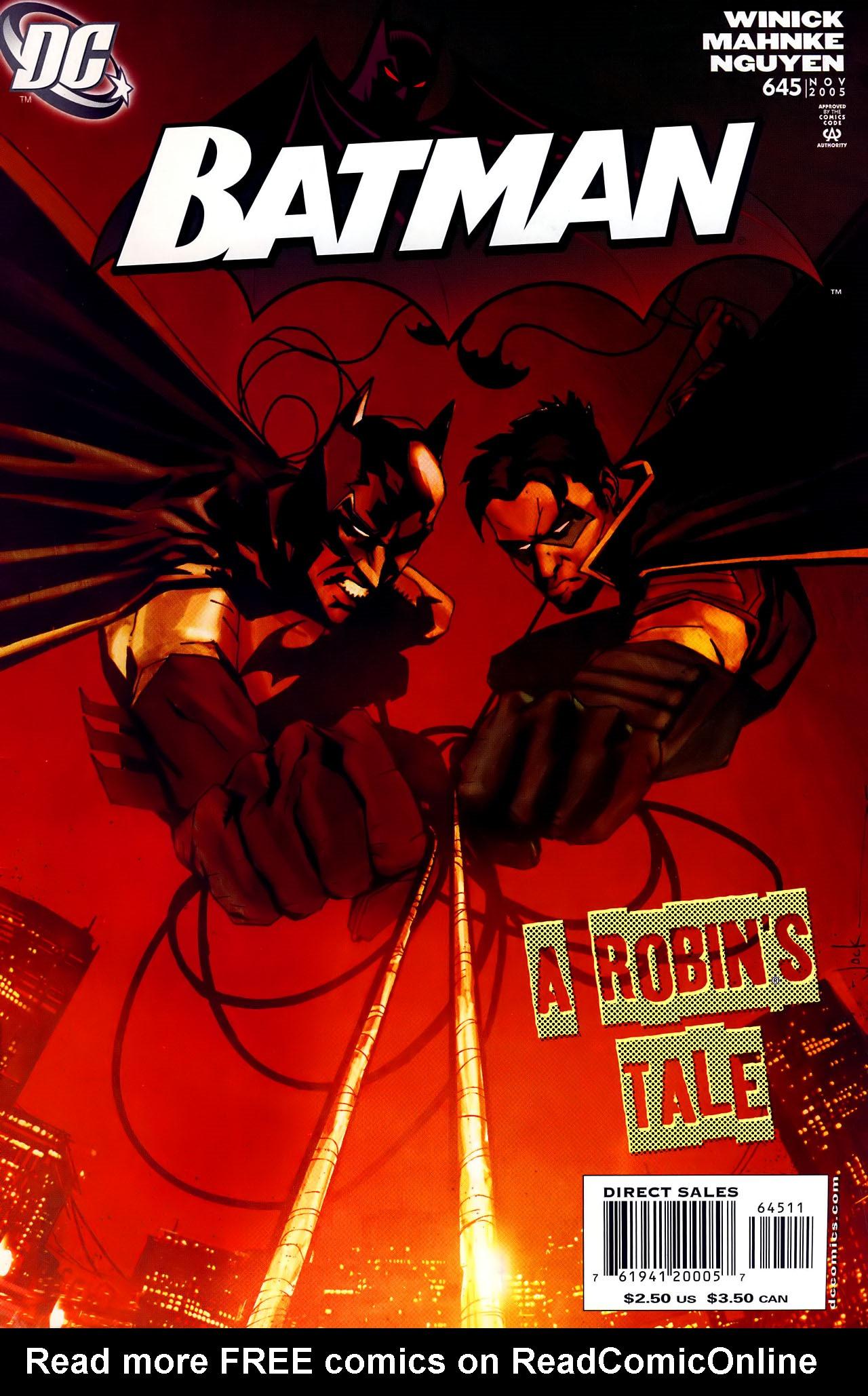 Batman: Under The Hood 8 Page 1