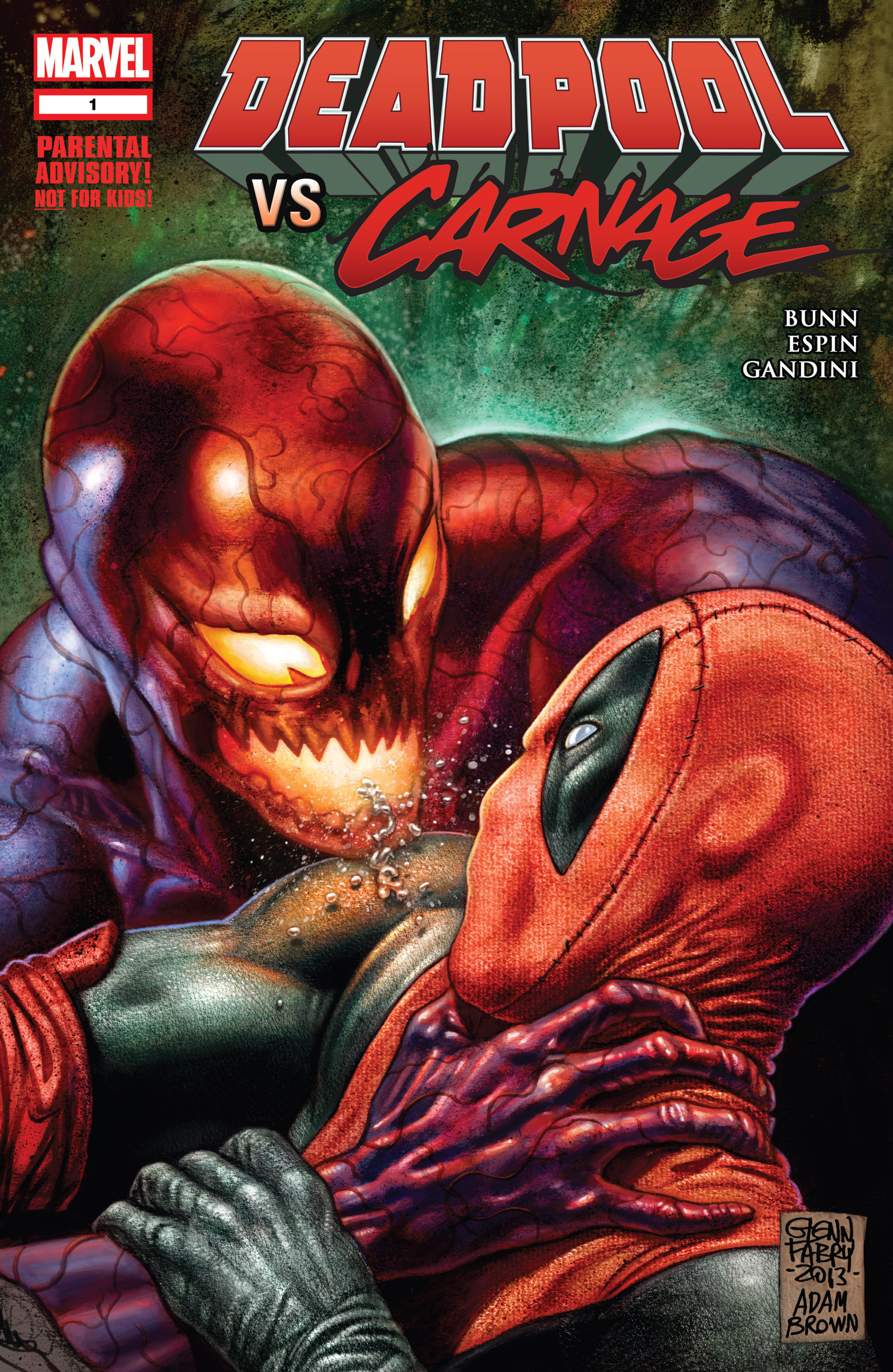 Read online Deadpool vs. Carnage comic -  Issue #1 - 1