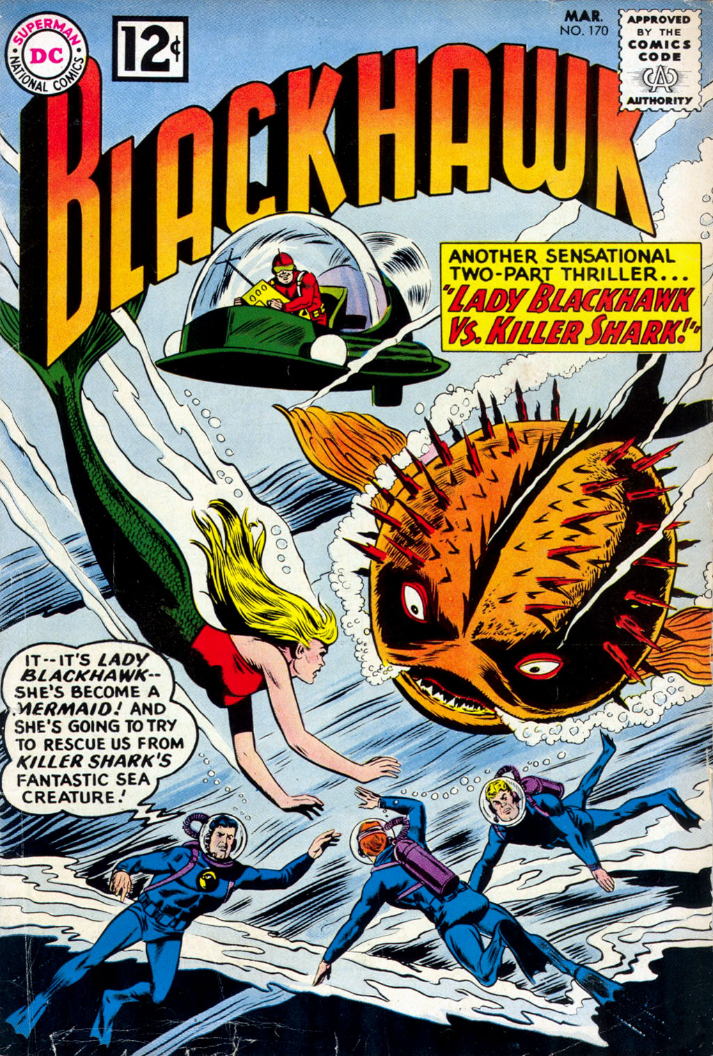 Blackhawk (1957) 170 Page 1