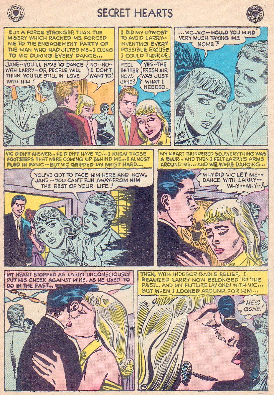 Read online Secret Hearts comic -  Issue #44 - 33