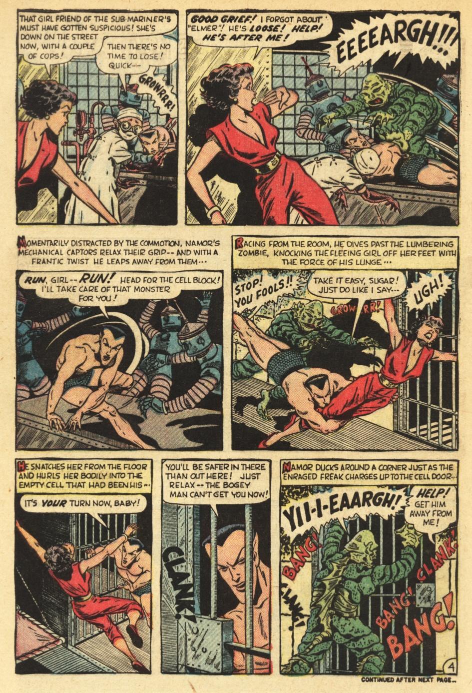 Sub-Mariner Comics #35 #35 - English 28