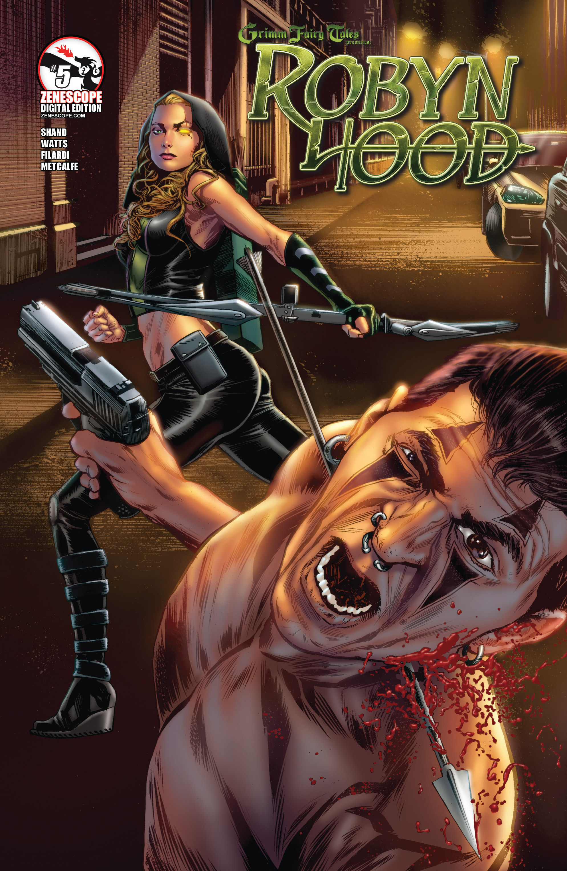 Read online Grimm Fairy Tales presents Robyn Hood (2012) comic -  Issue #5 - 1