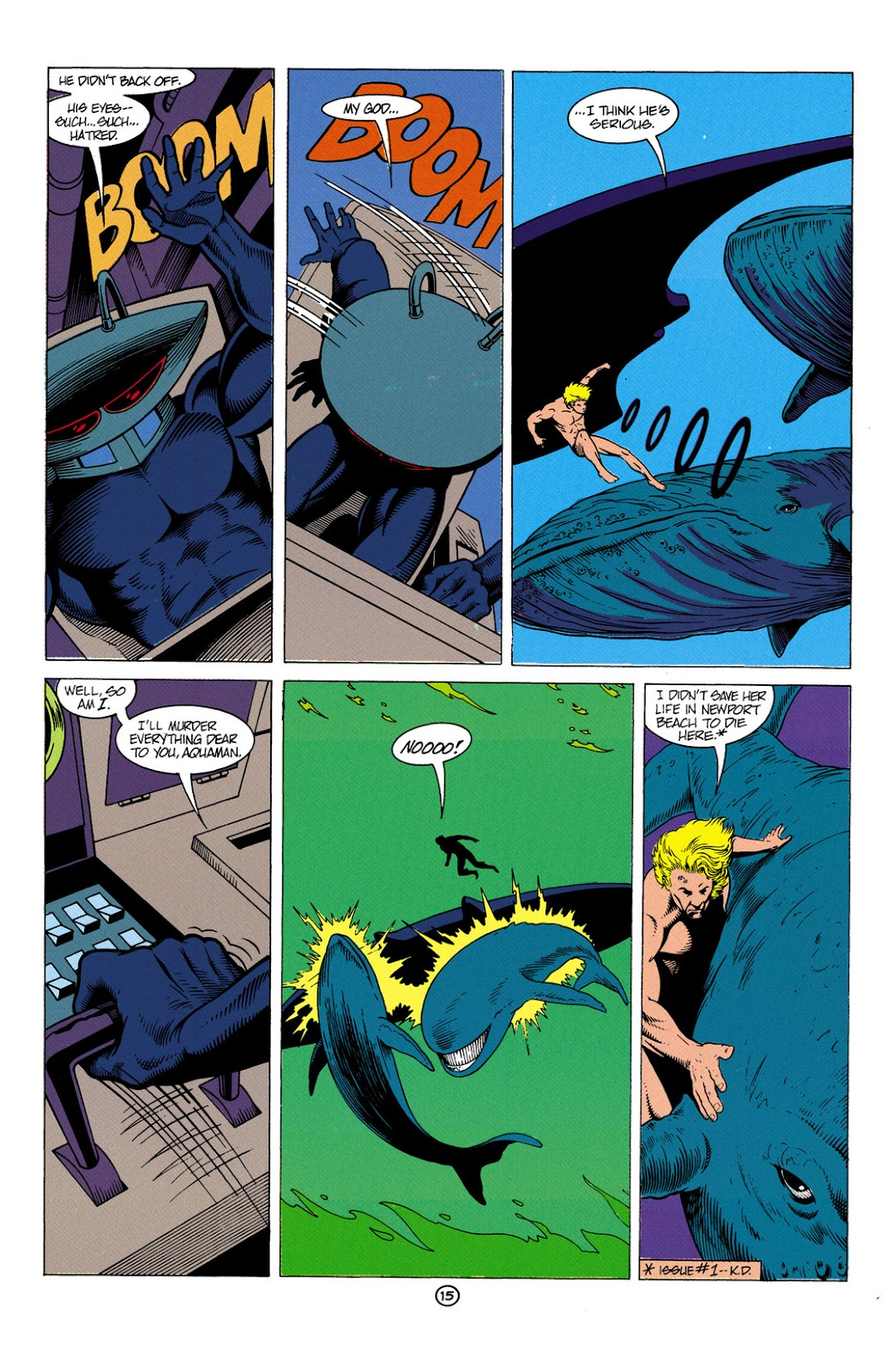 Aquaman (1991) Issue #6 #6 - English 16