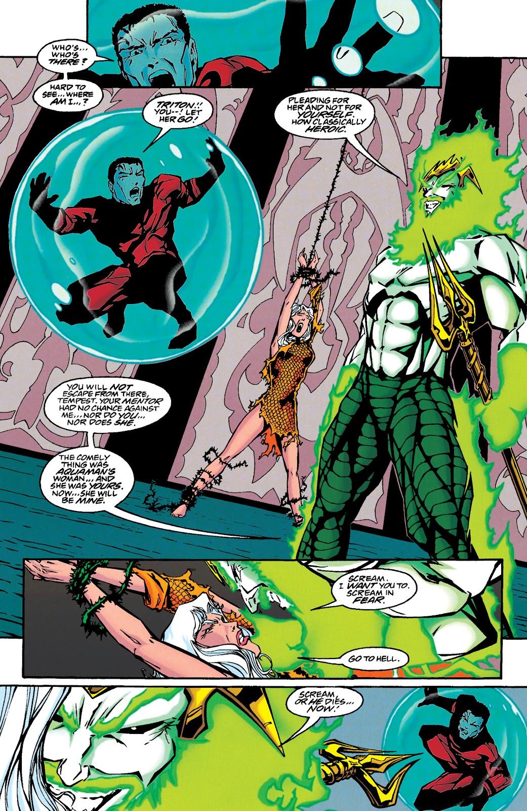 Aquaman (1994) Issue #46 #52 - English 12