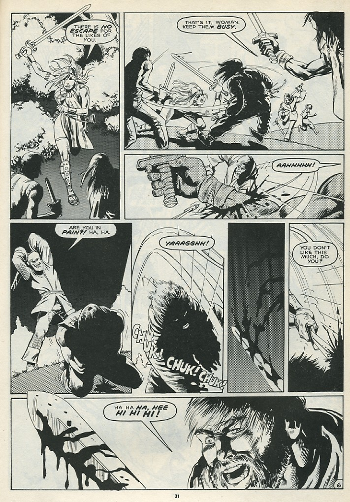The Savage Sword Of Conan Issue #172 #173 - English 33