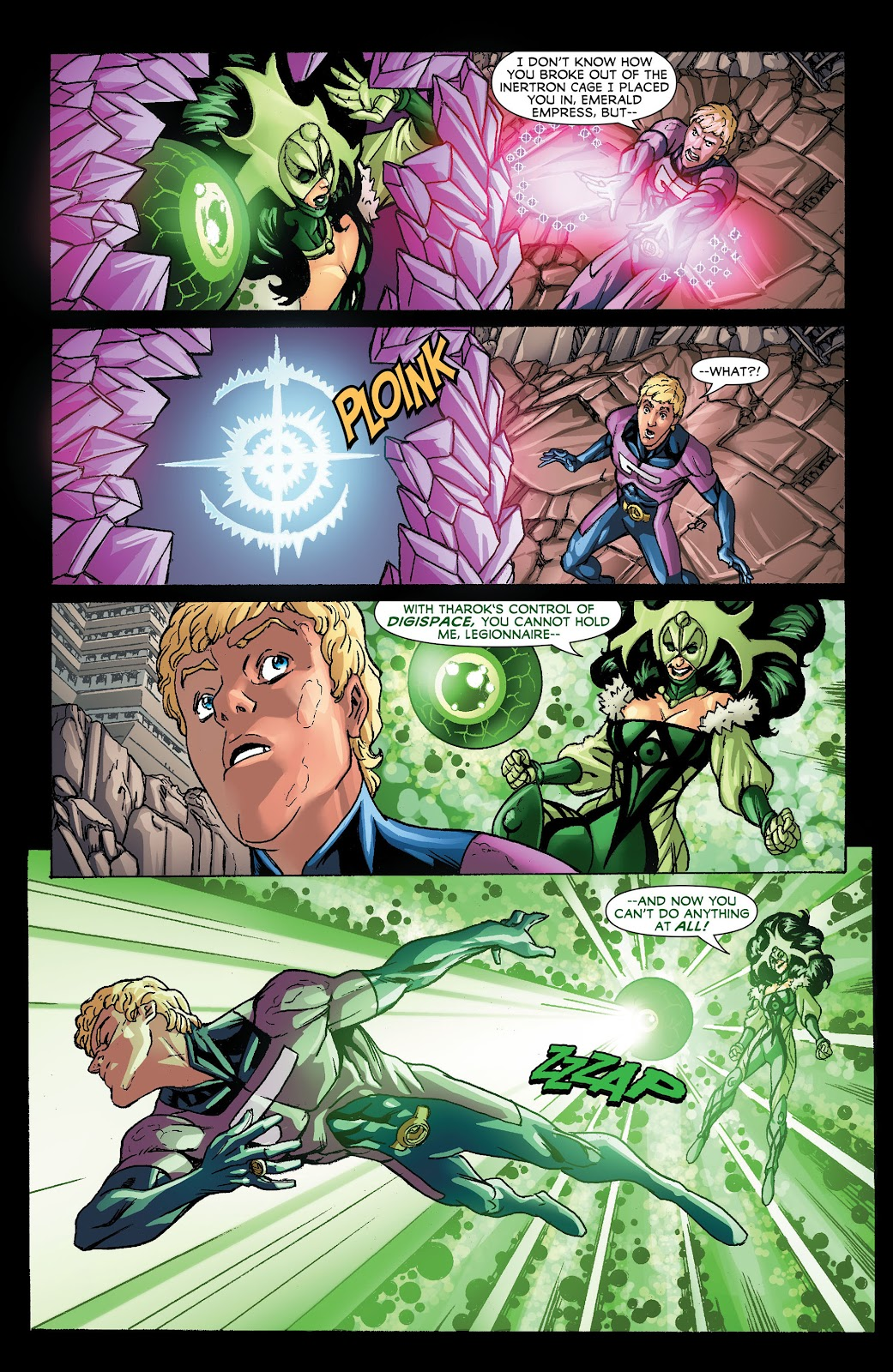Legion of Super-Heroes (2011) Issue #21 #22 - English 18