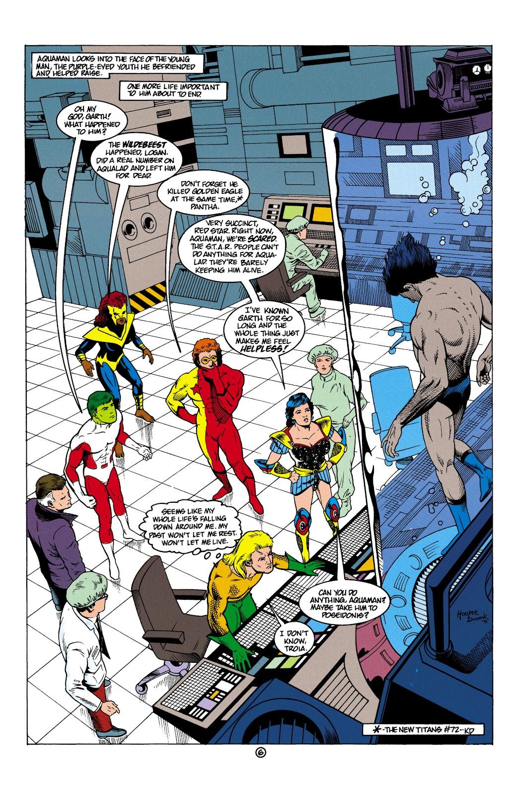 Aquaman (1991) Issue #5 #5 - English 7