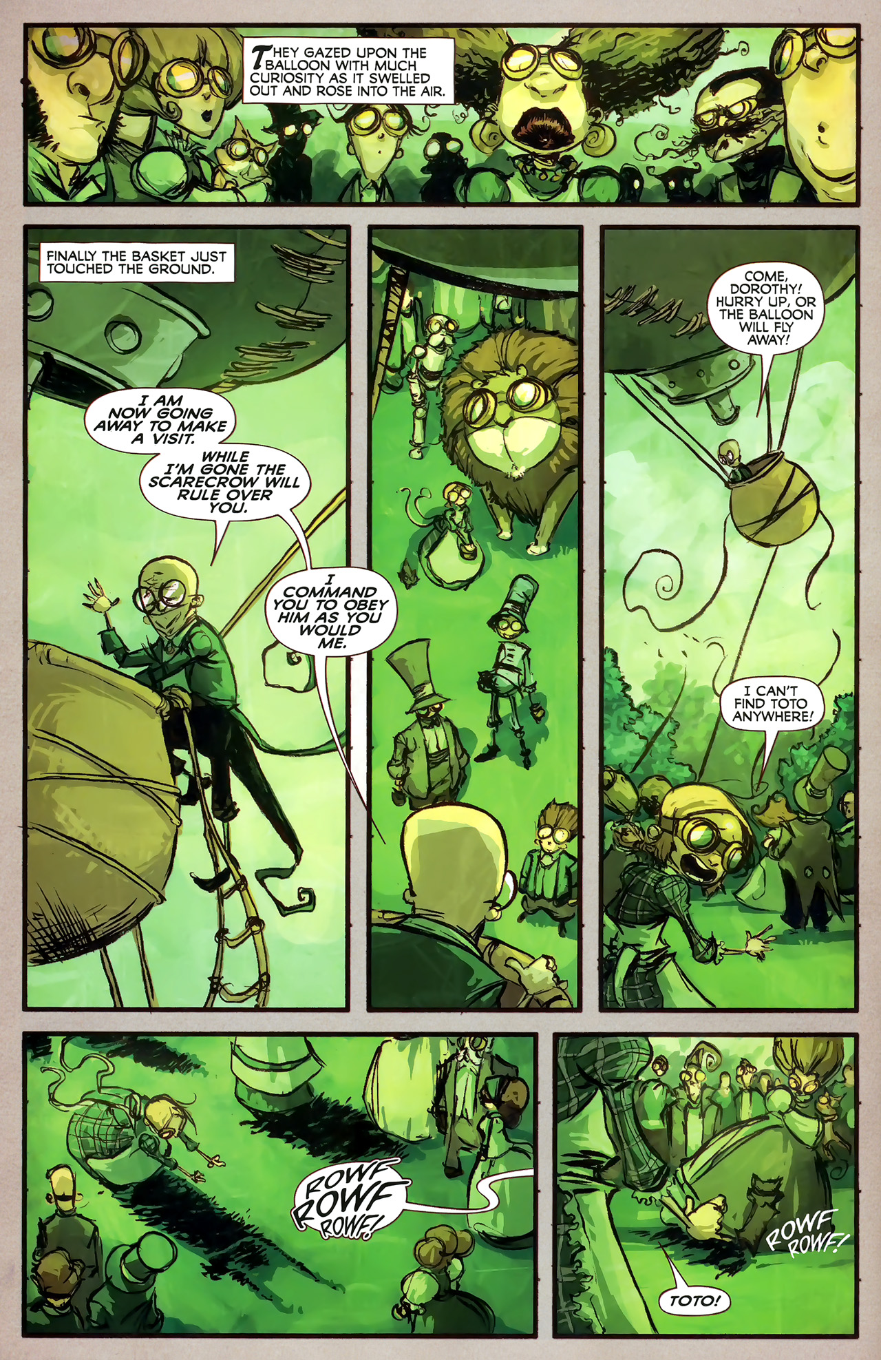 Read online The Wonderful Wizard of Oz comic -  Issue #7 - 12