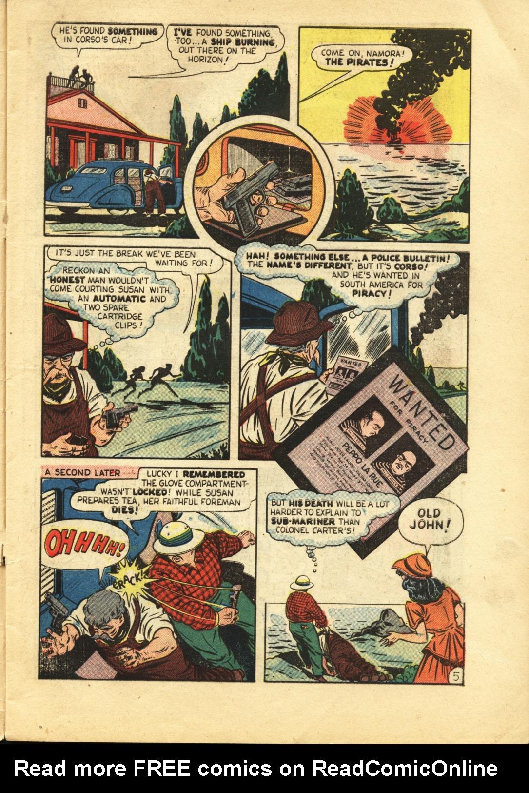 Sub-Mariner Comics #29 #29 - English 6