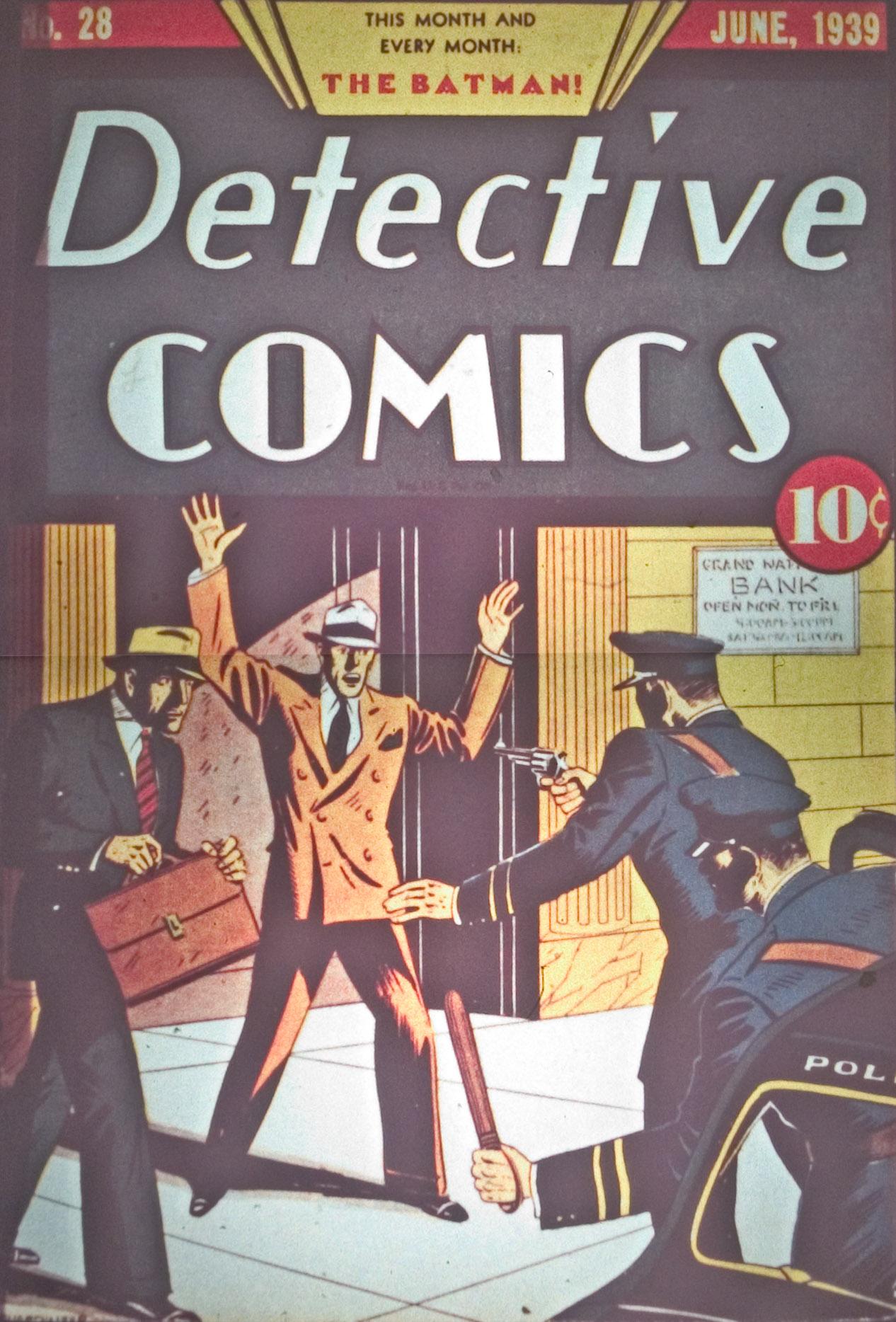 Detective Comics (1937) 28 Page 1