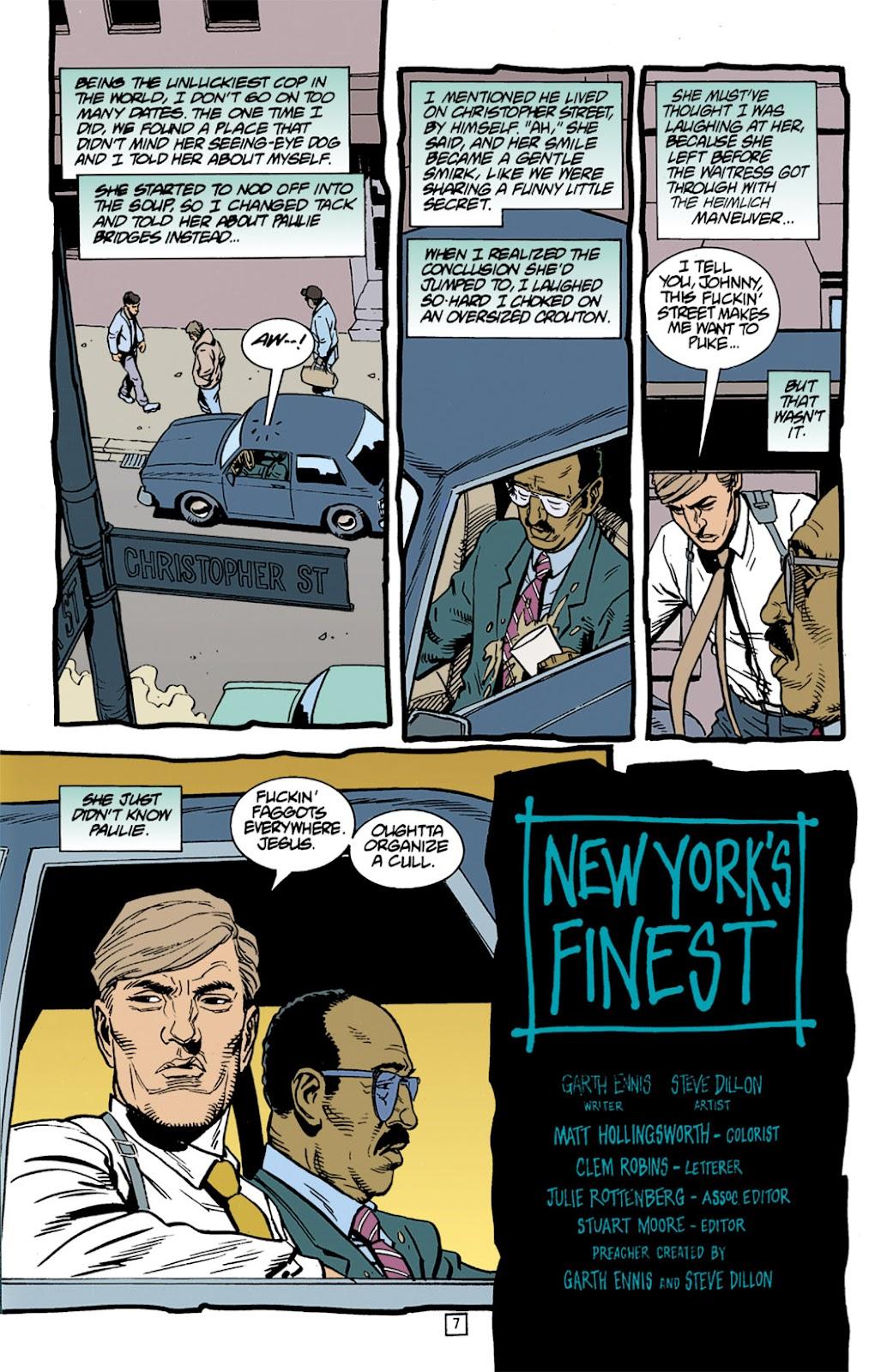 Preacher Issue #6 #15 - English 8