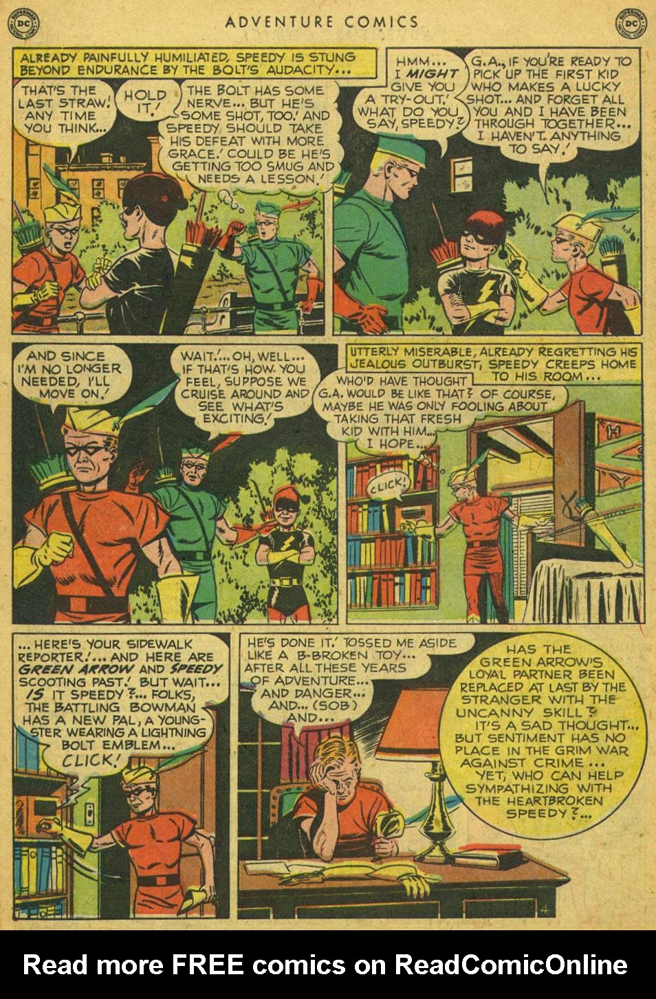 Read online Adventure Comics (1938) comic -  Issue #164 - 42