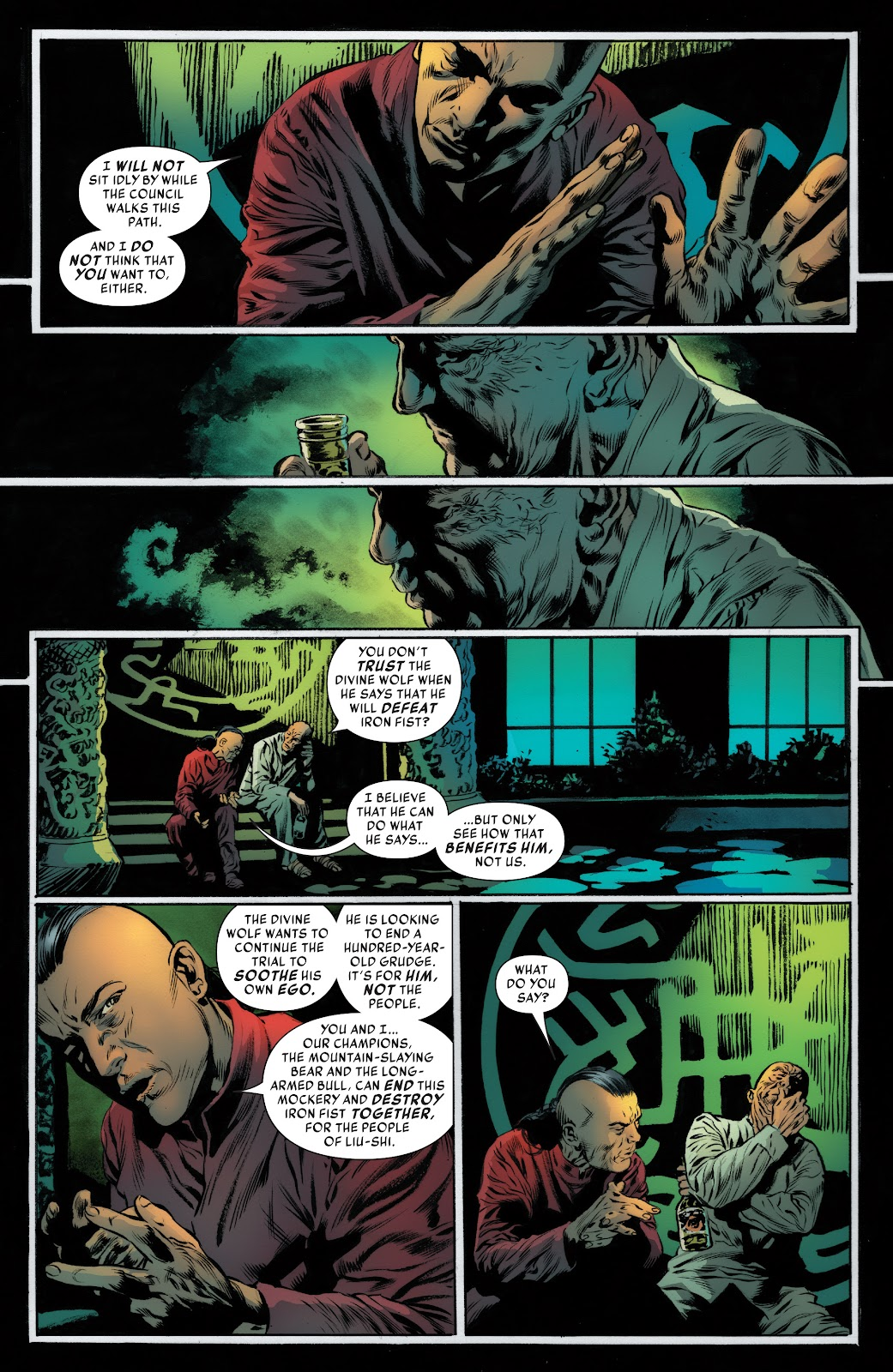 Iron Fist (2017) Issue #4 #4 - English 8