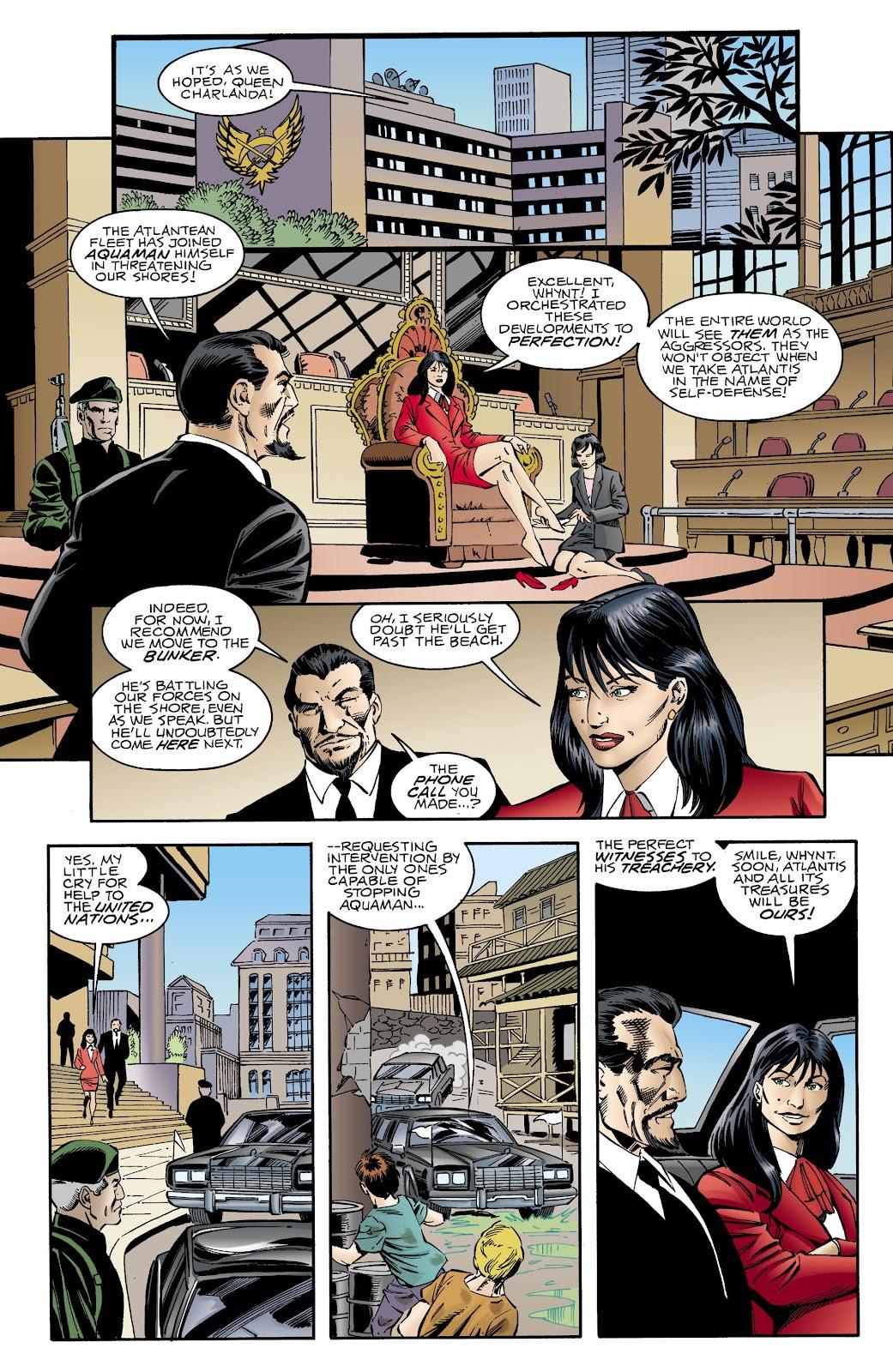 Aquaman (1994) Issue #66 #72 - English 4