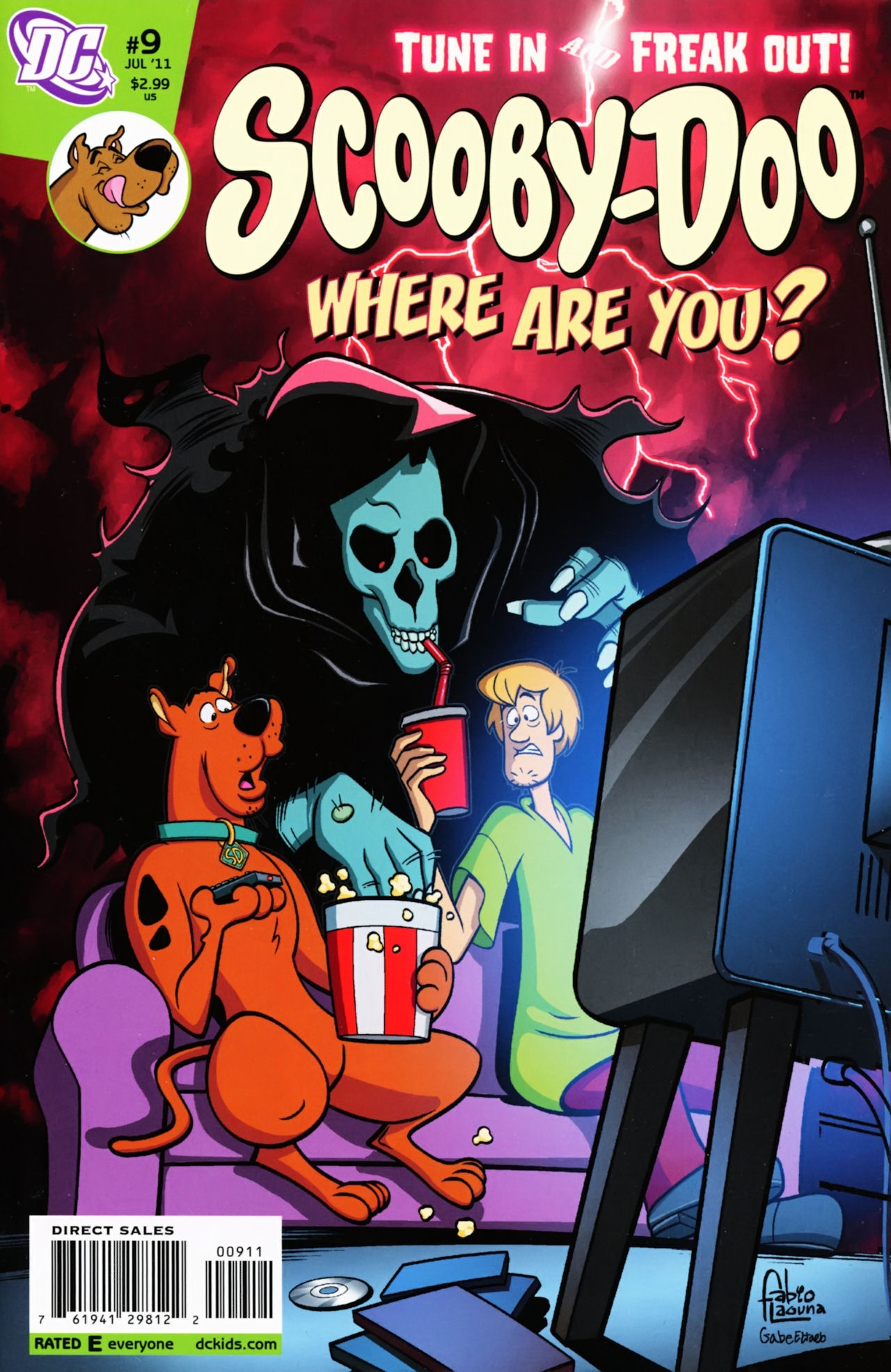 Read online Scooby-Doo: Where Are You? comic -  Issue #9 - 1
