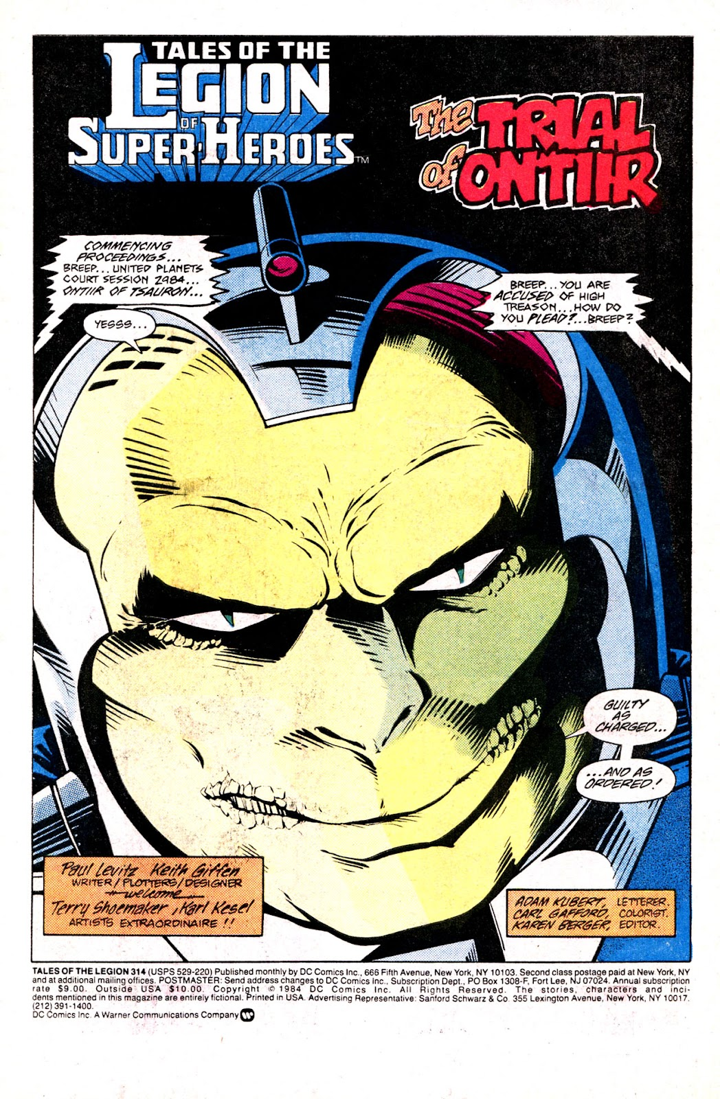 Tales of the Legion Issue #314 #1 - English 3