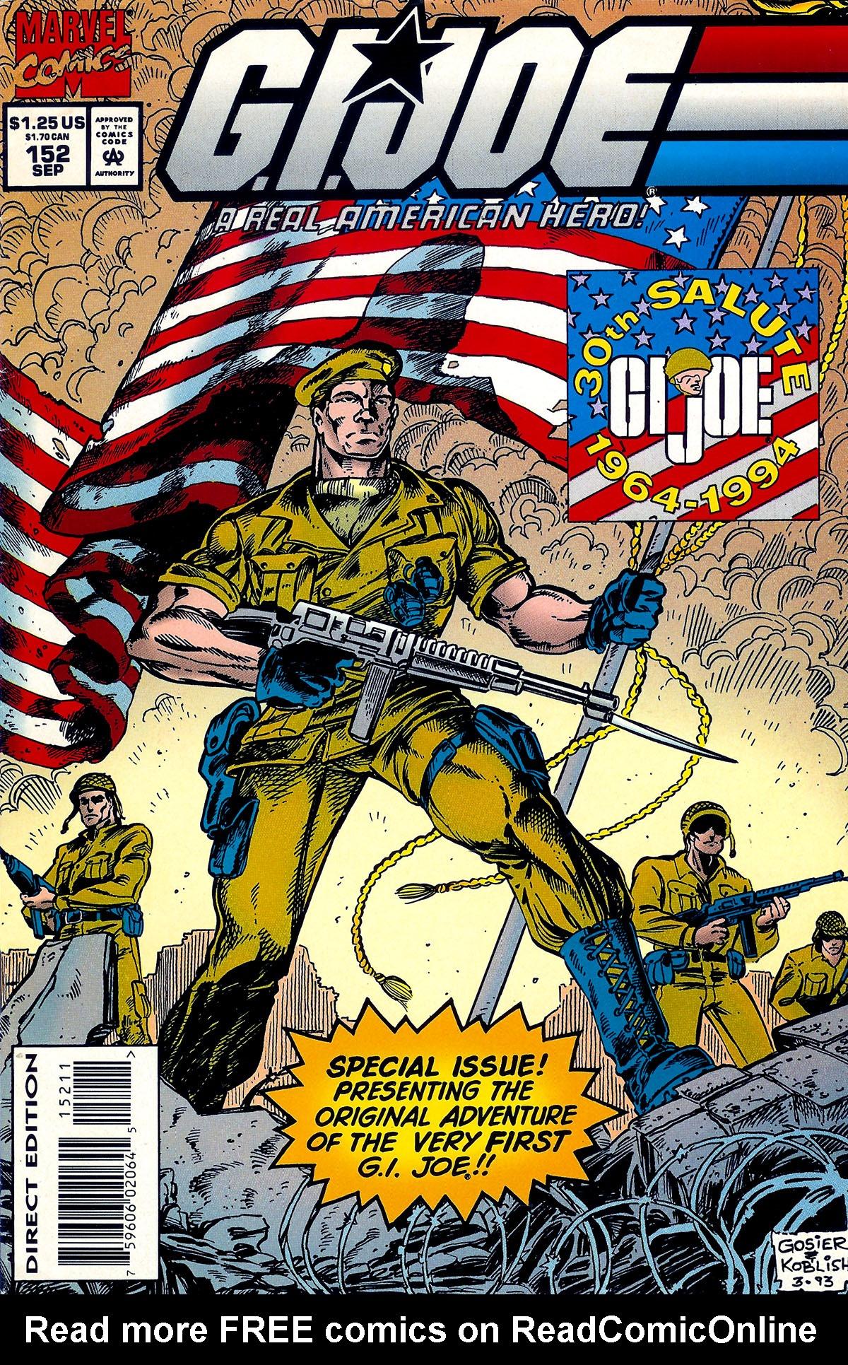 G.I. Joe: A Real American Hero 152 Page 1