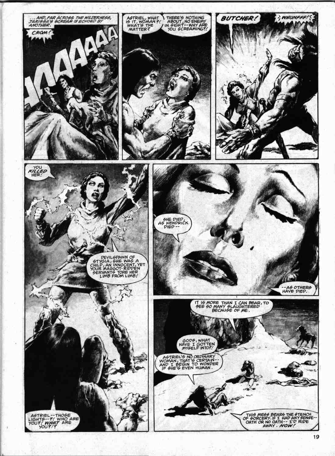 The Savage Sword Of Conan Issue #74 #75 - English 18