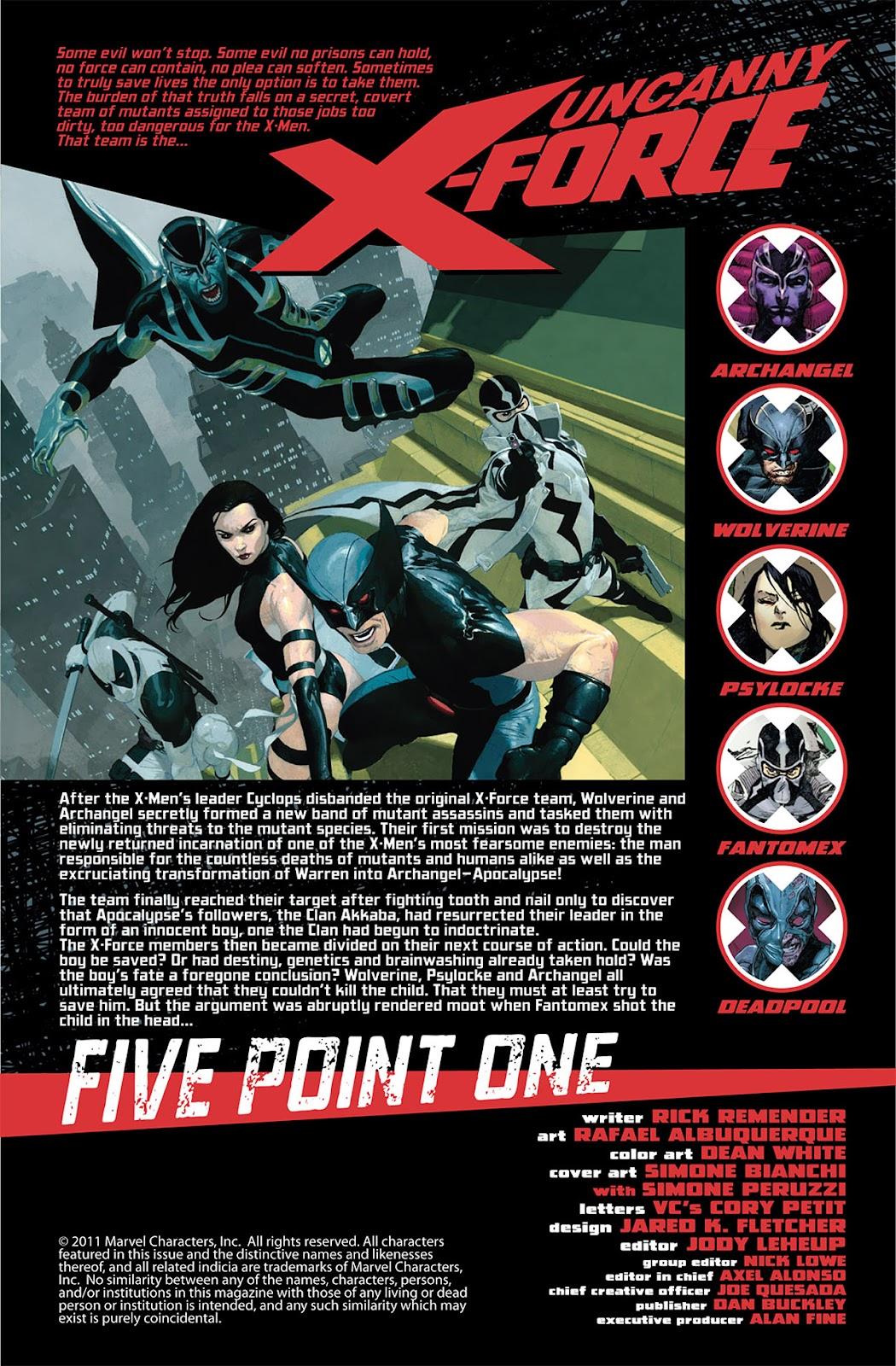 Uncanny X-Force (2010) Issue #5.1 #6 - English 2