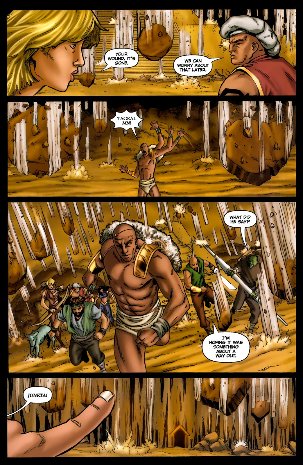 1001 Arabian Nights: The Adventures of Sinbad Issue #13 Page 21