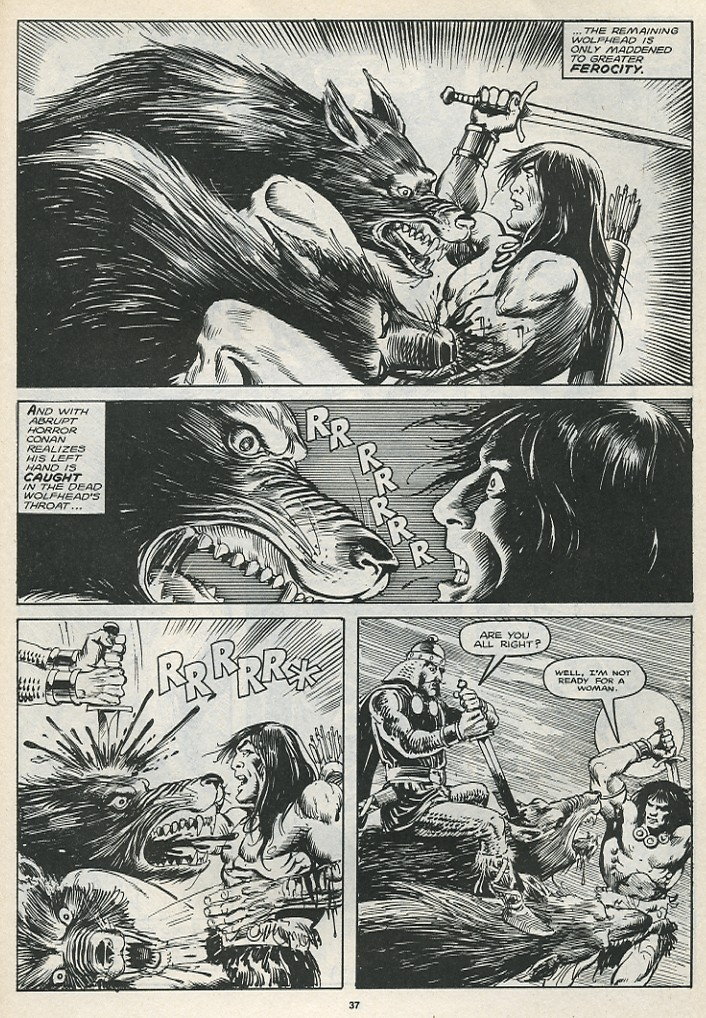 The Savage Sword Of Conan Issue #174 #175 - English 39