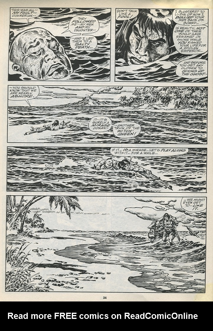 The Savage Sword Of Conan Issue #194 #195 - English 36