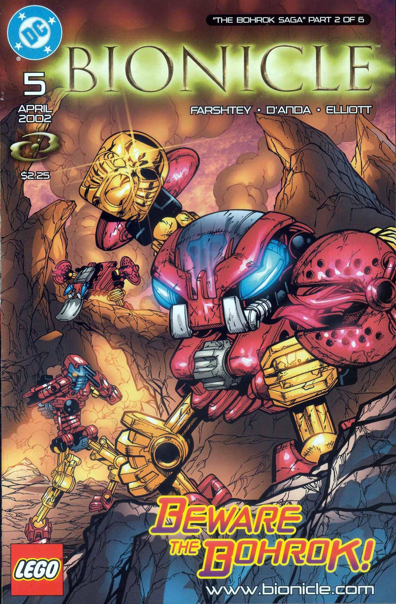 Bionicle 5 Page 1