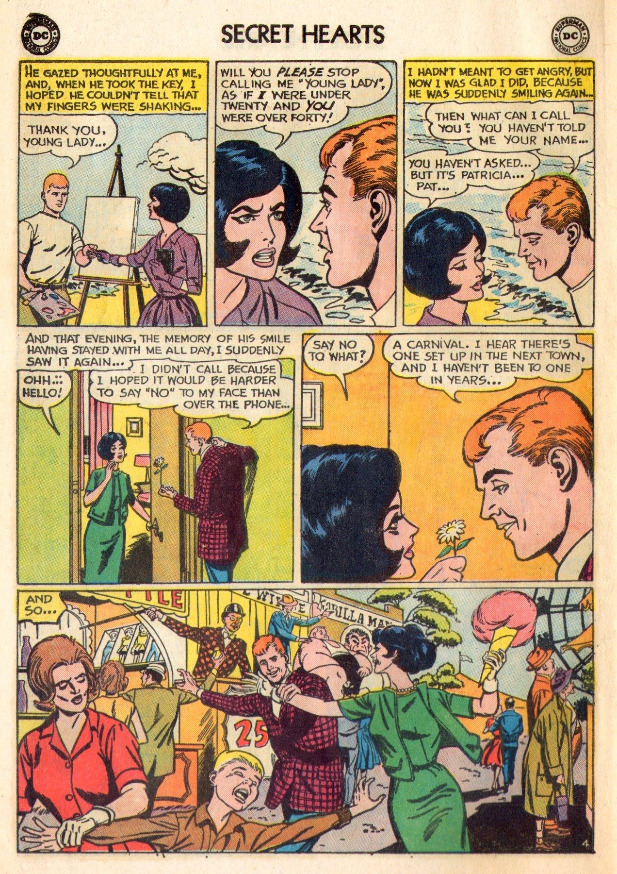 Read online Secret Hearts comic -  Issue #84 - 14