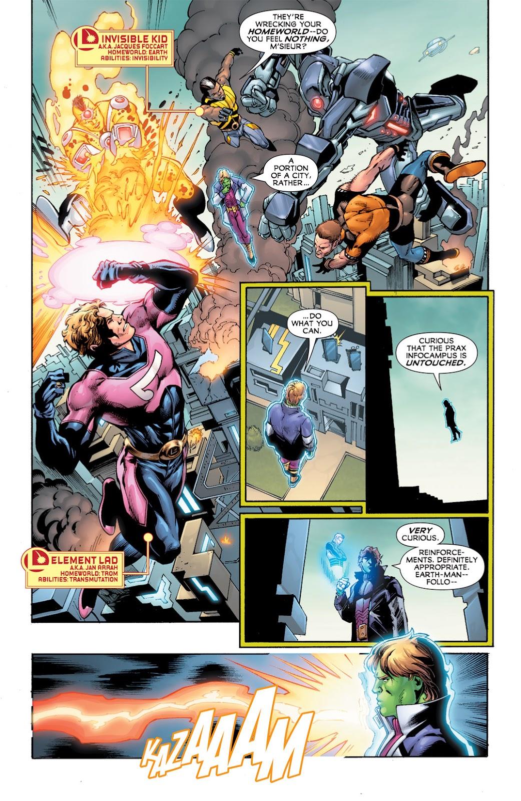 Legion of Super-Heroes (2010) Issue #12 #13 - English 17