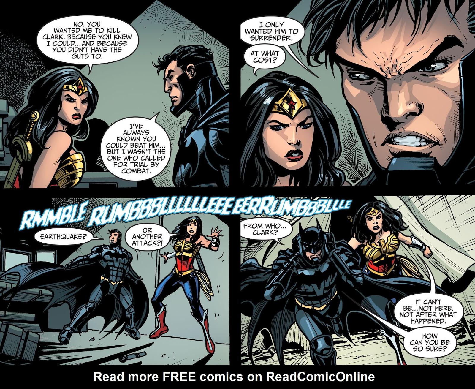 Injustice: Gods Among Us Year Four Issue #16 #17 - English 21