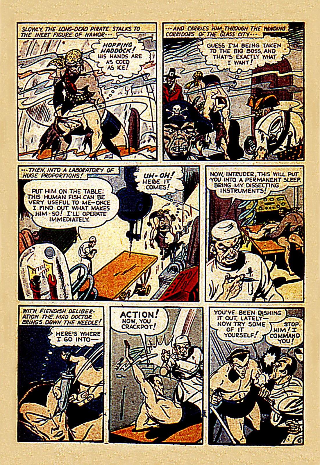 Sub-Mariner Comics Issue #7 #7 - English 8