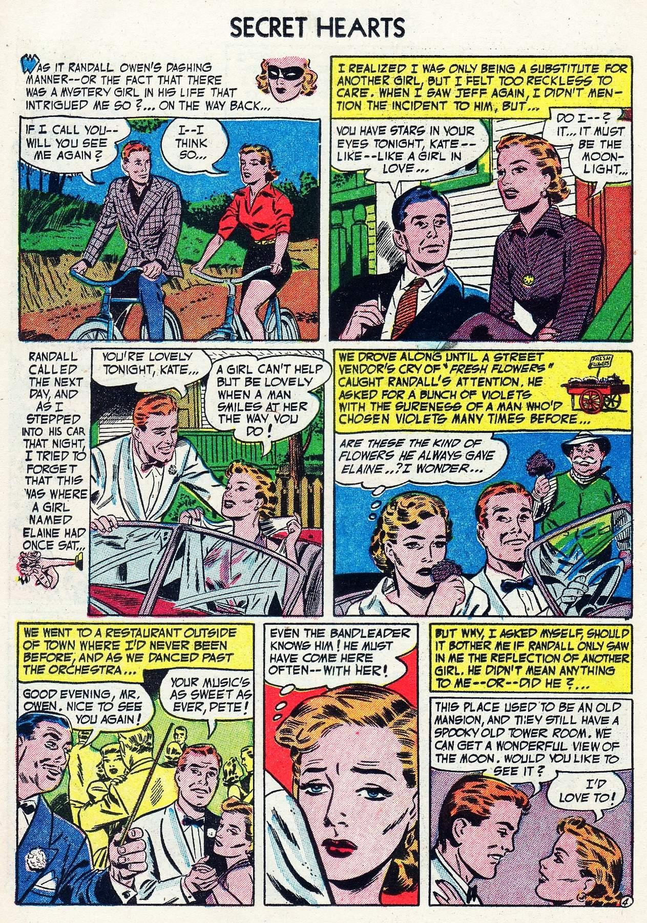 Read online Secret Hearts comic -  Issue #16 - 14