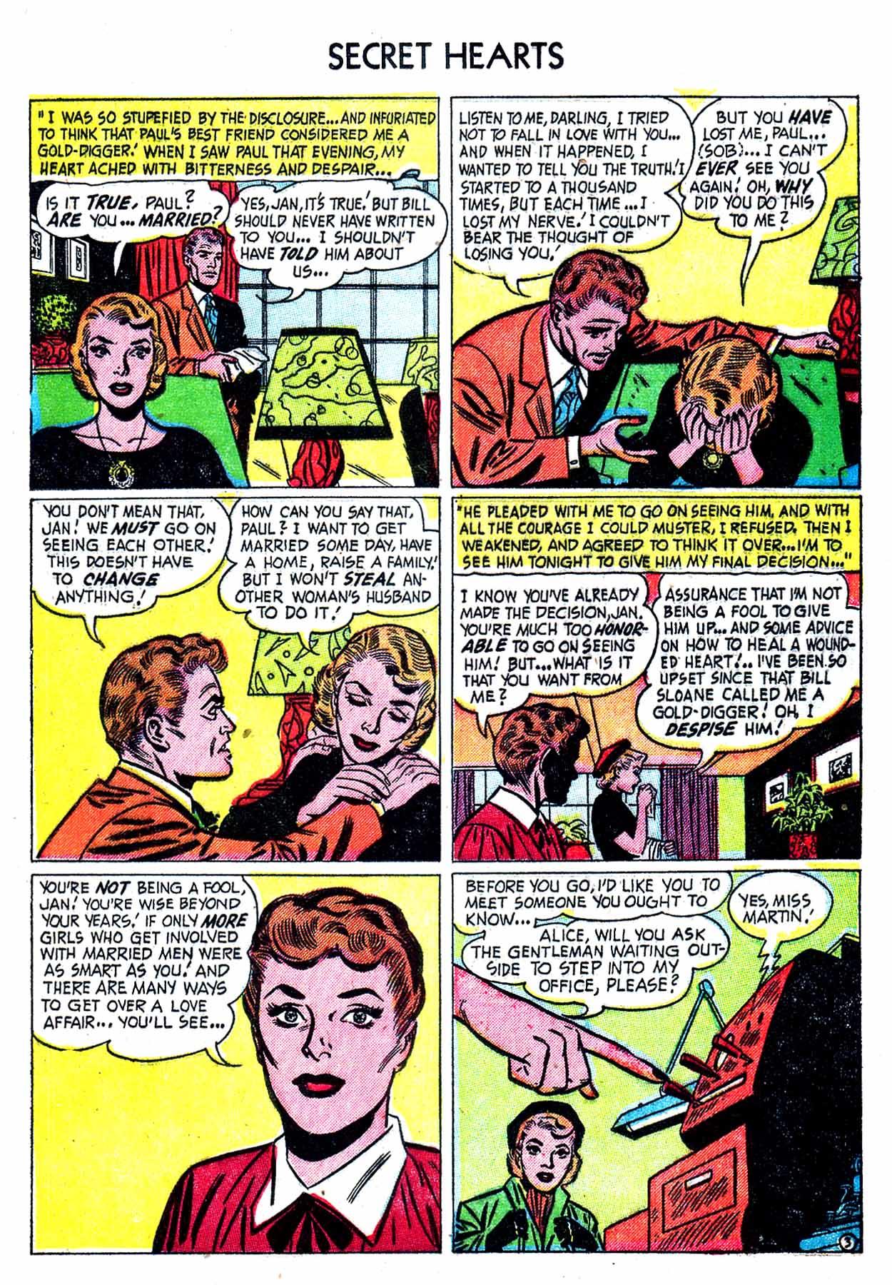 Read online Secret Hearts comic -  Issue #8 - 13