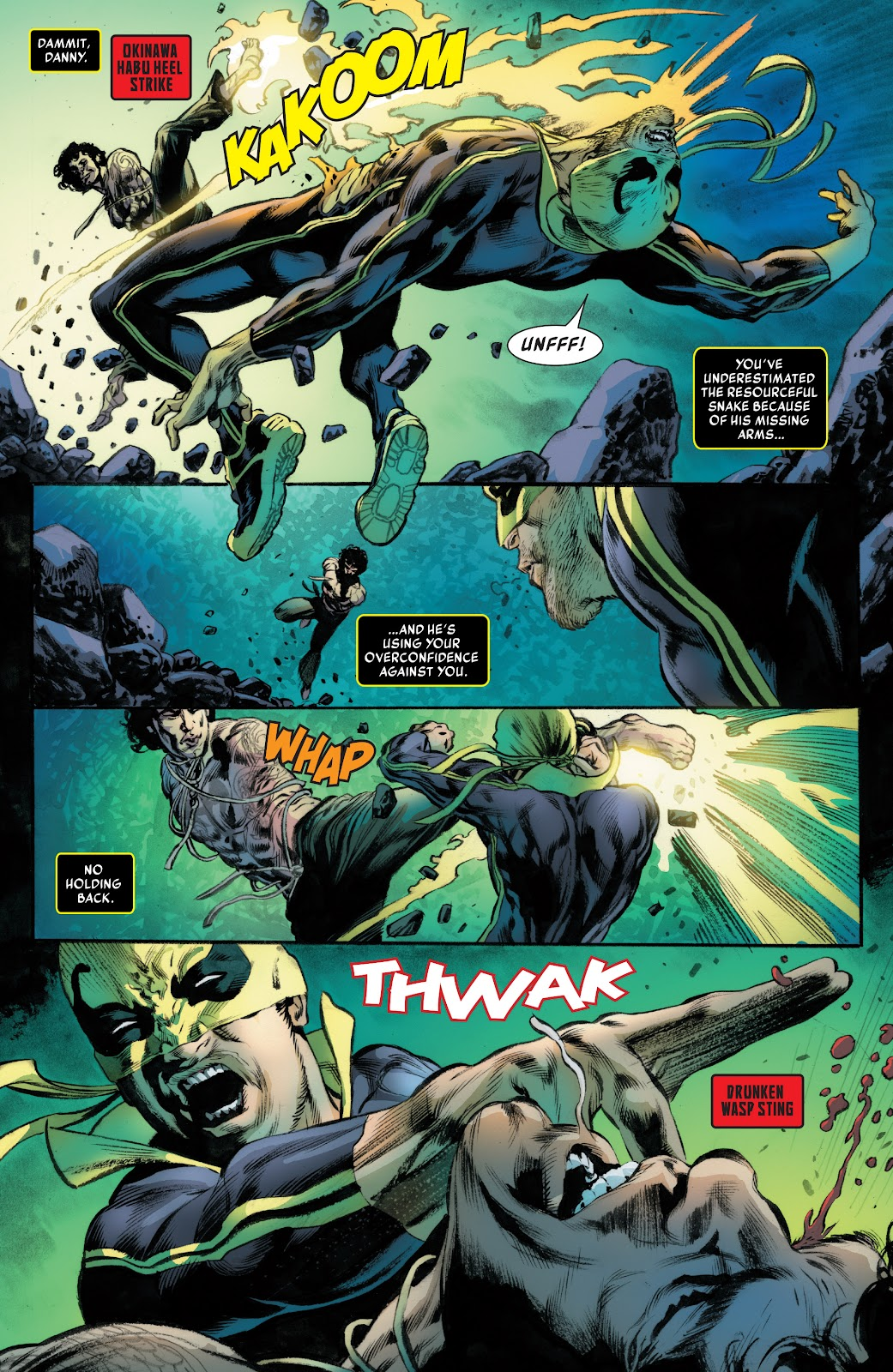 Iron Fist (2017) Issue #3 #3 - English 15