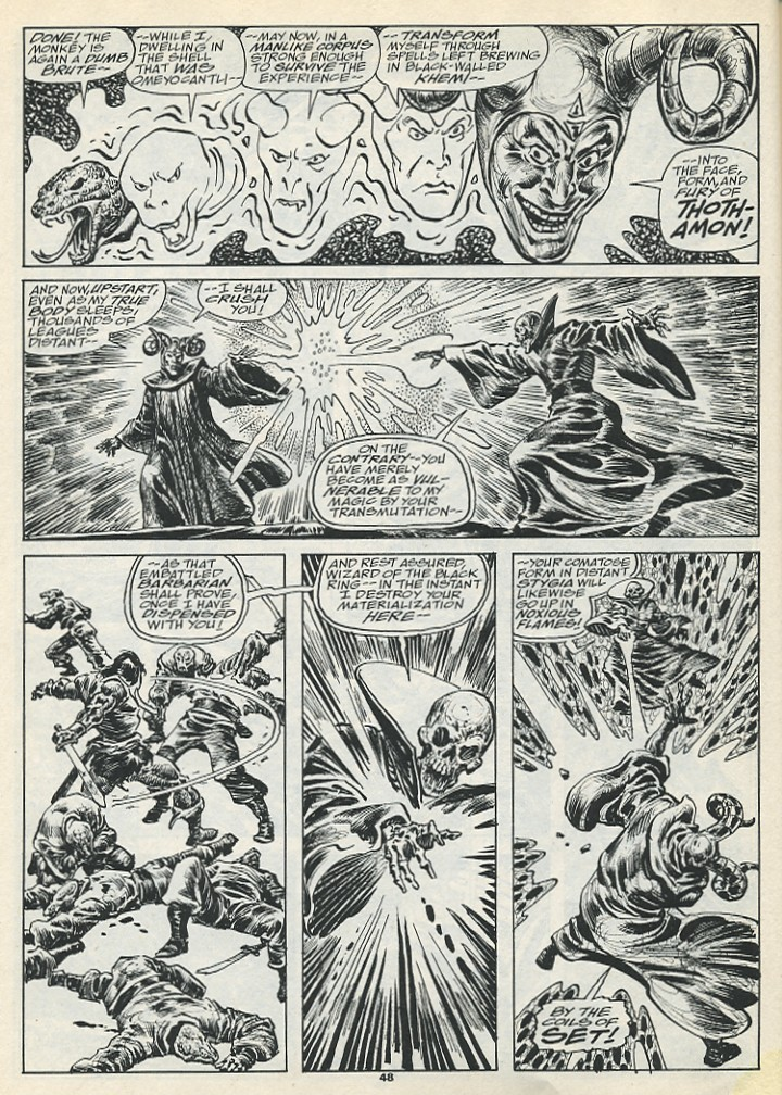 The Savage Sword Of Conan Issue #193 #194 - English 50