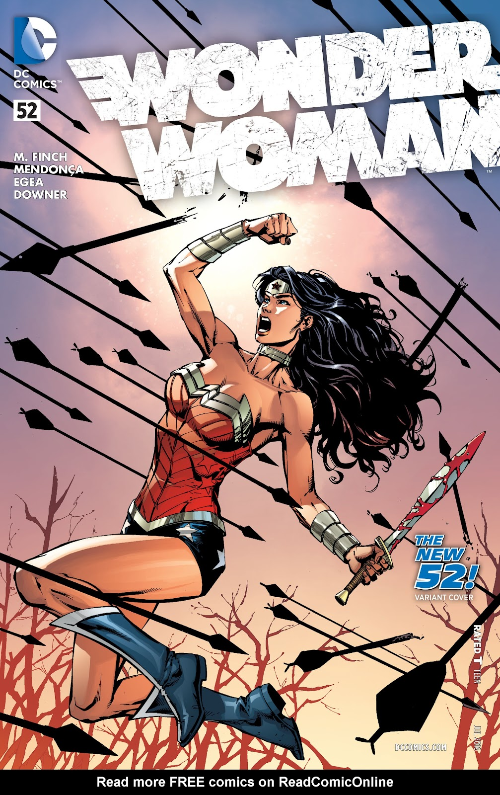 Wonder Woman (2011) Issue #52 #56 - English 3