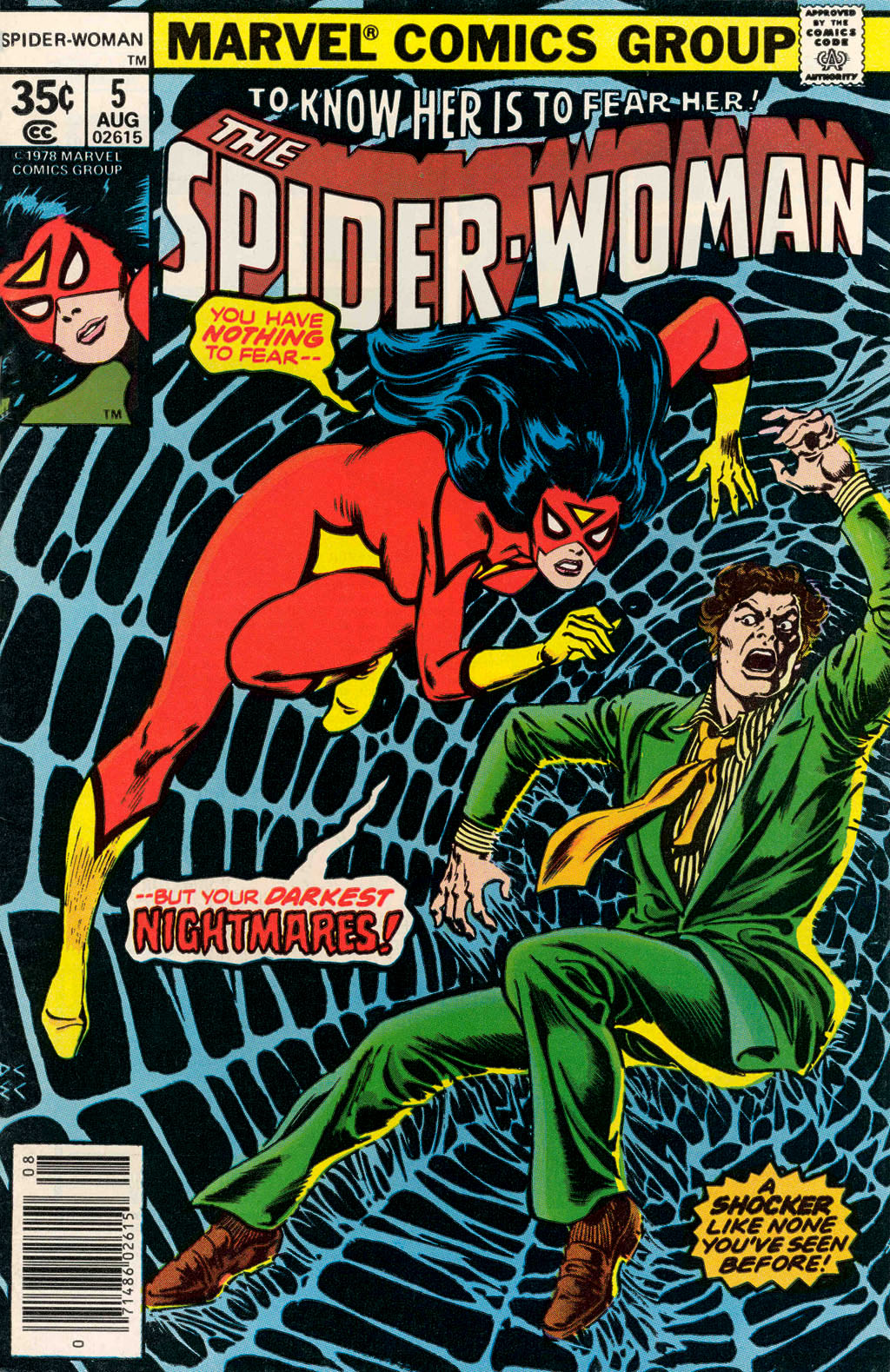 Spider-Woman (1978) Issue #5 #5 - English 1