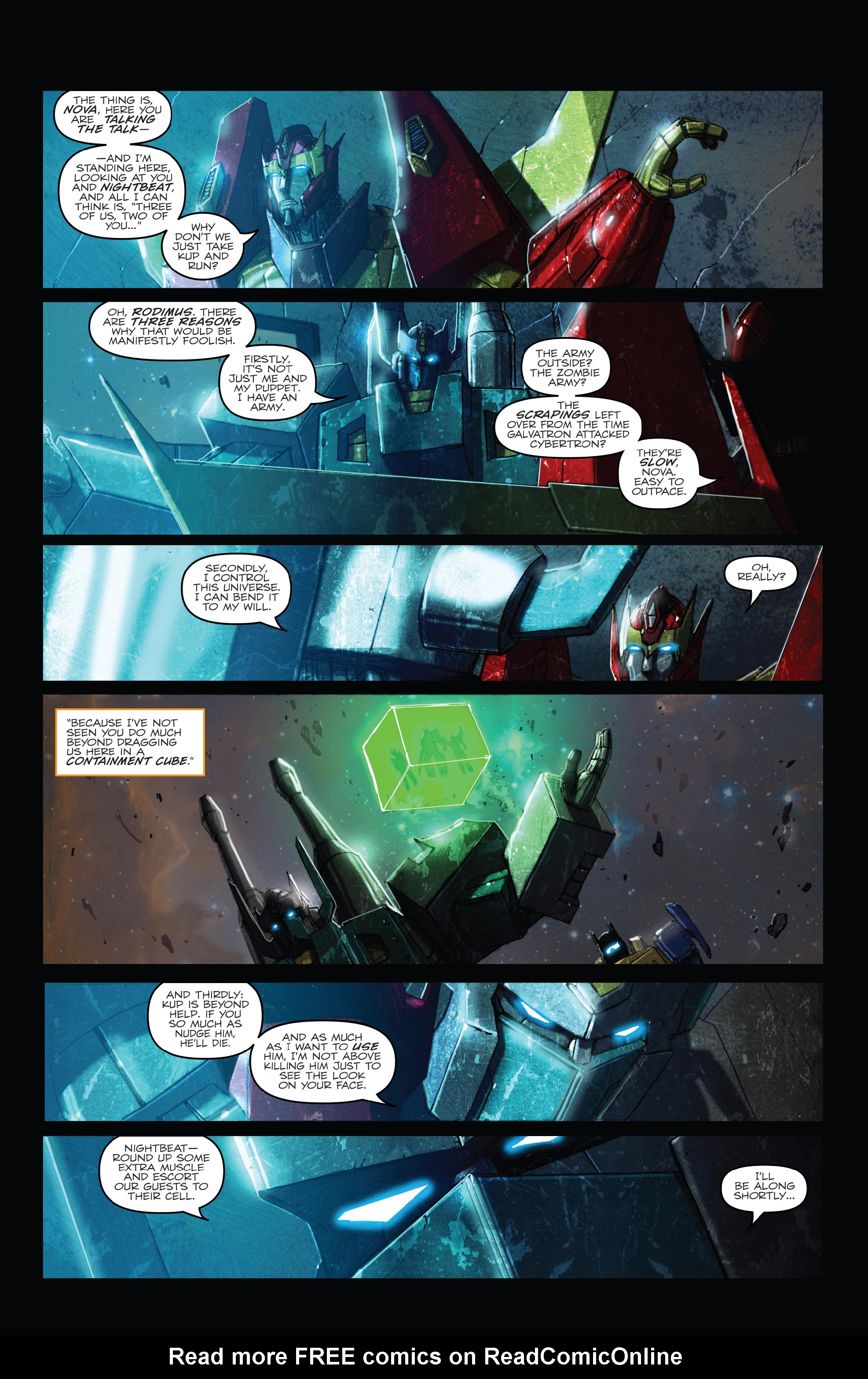 Read online The Transformers: Dark Cybertron Finale comic -  Issue # Full - 13