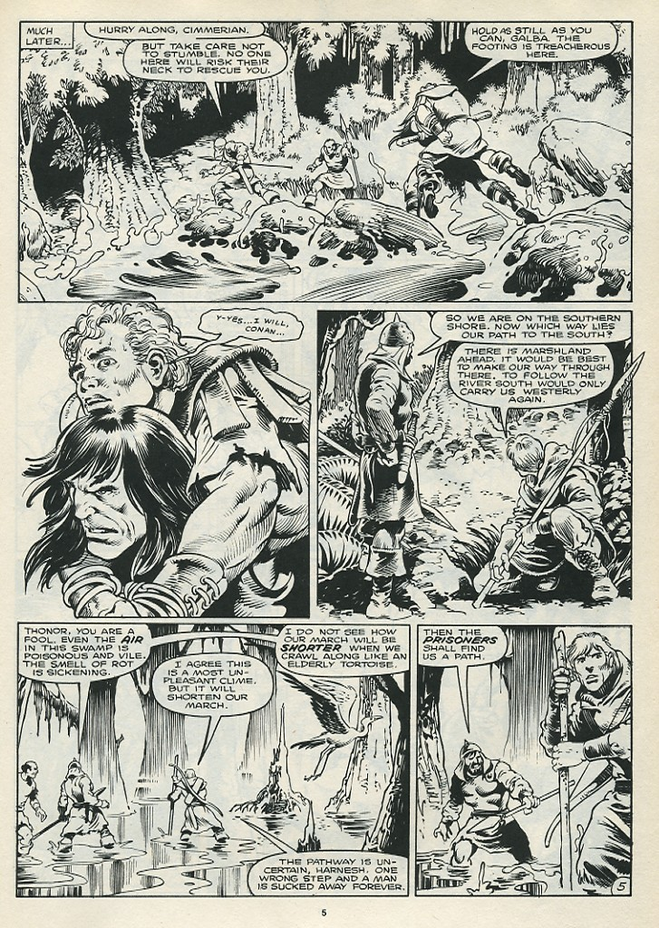 The Savage Sword Of Conan Issue #172 #173 - English 7