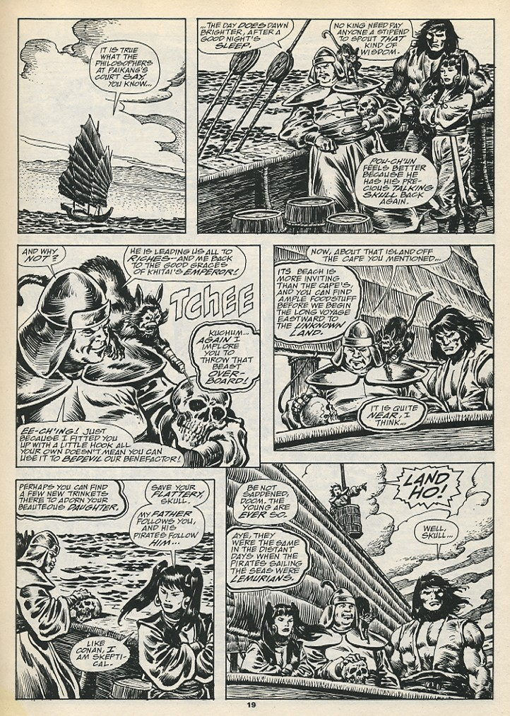 The Savage Sword Of Conan Issue #192 #193 - English 21
