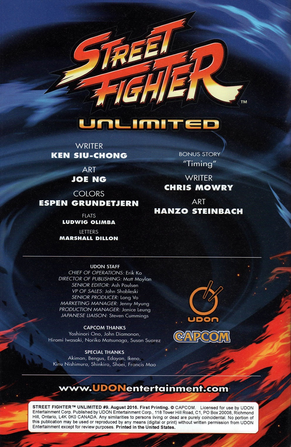 Street Fighter Unlimited Issue #9 #11 - English 4