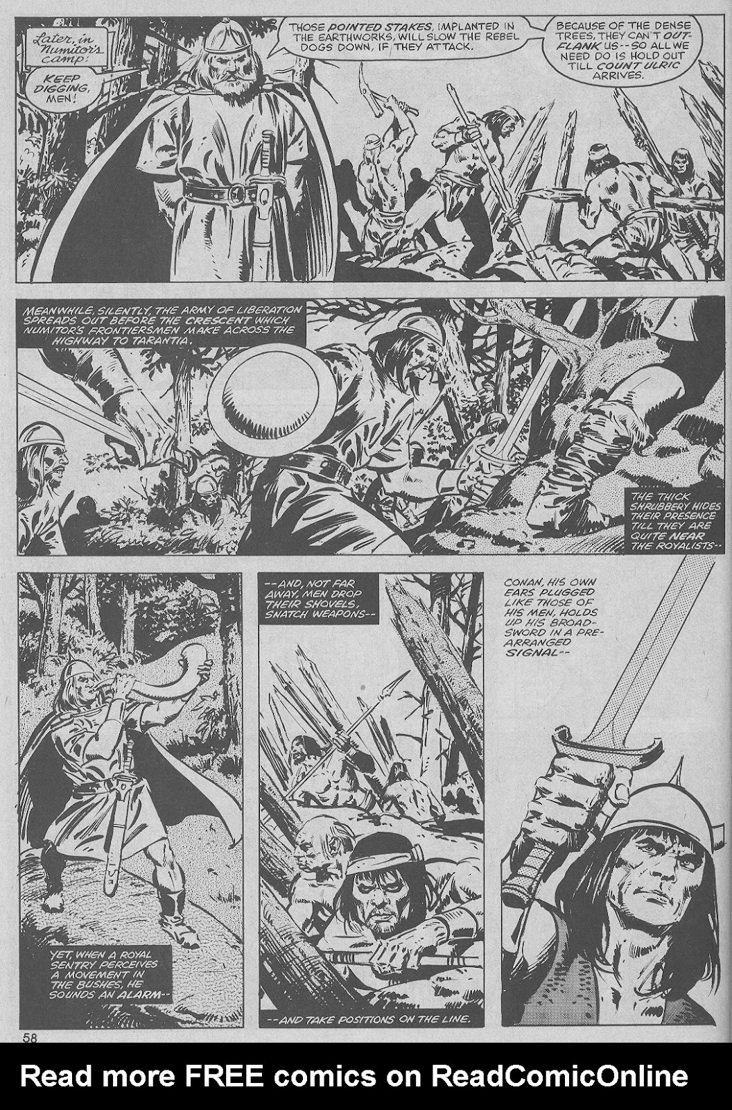 The Savage Sword Of Conan Issue #51 #52 - English 58