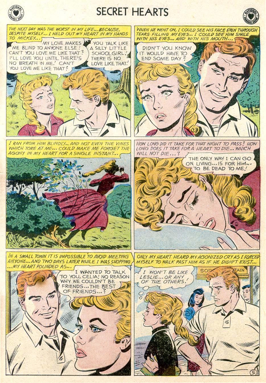 Read online Secret Hearts comic -  Issue #65 - 30