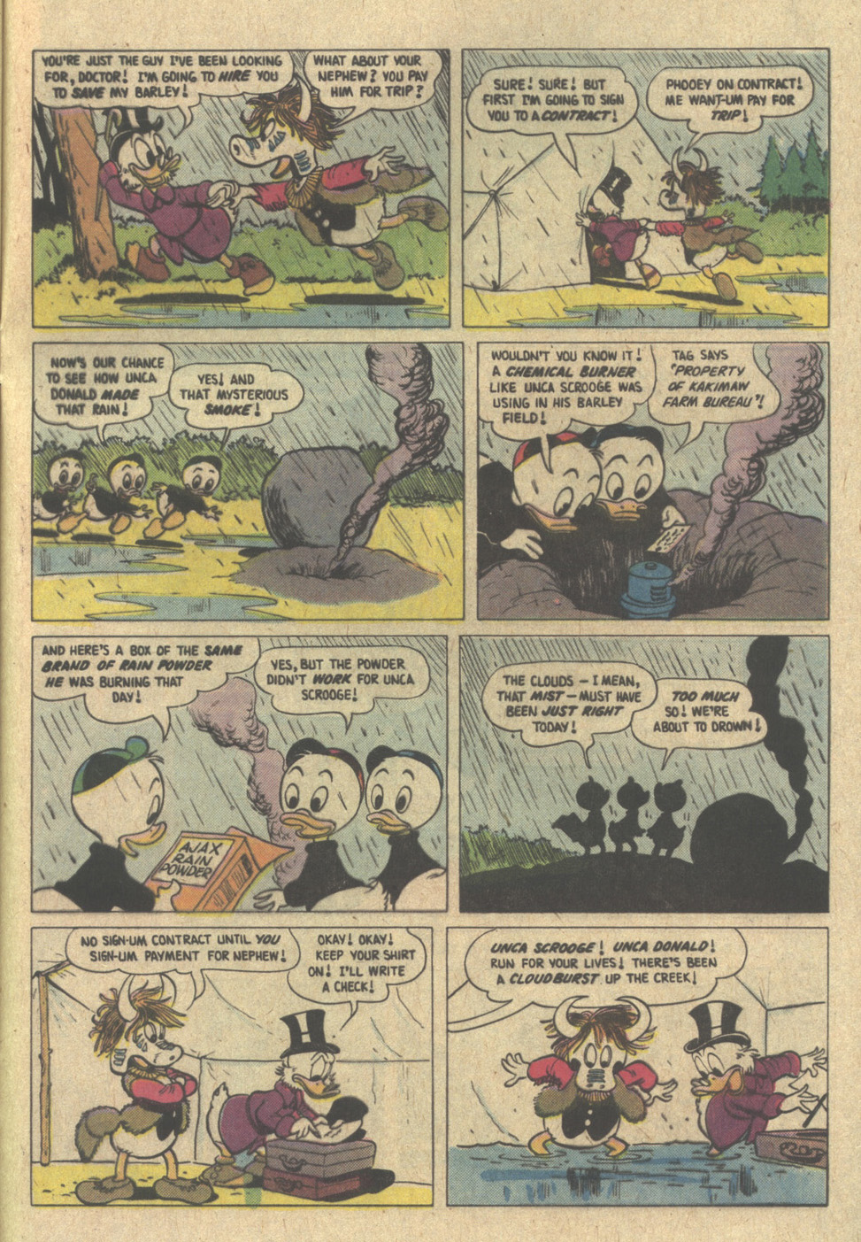 Uncle Scrooge (1953) Issue #220 #220 - English 33