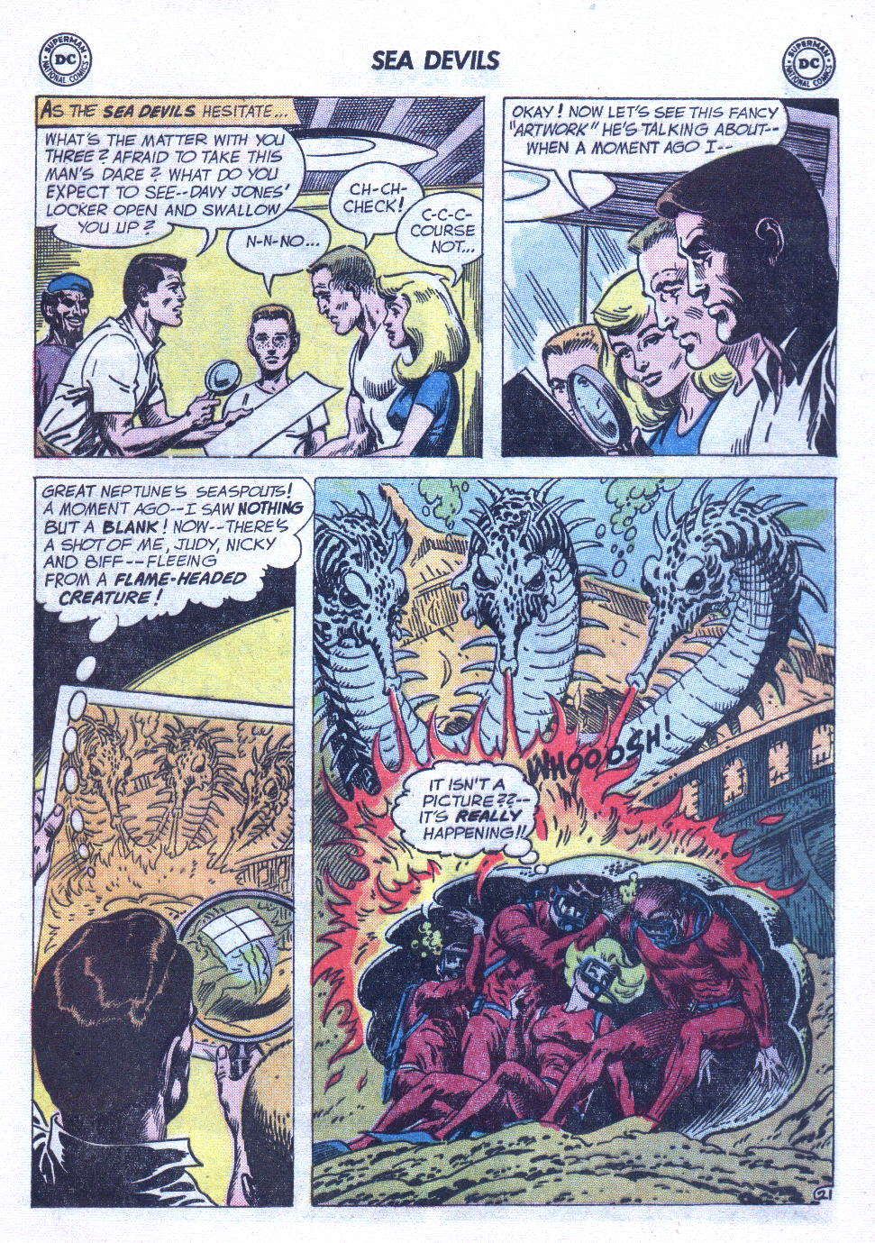 Read online Sea Devils comic -  Issue #6 - 30